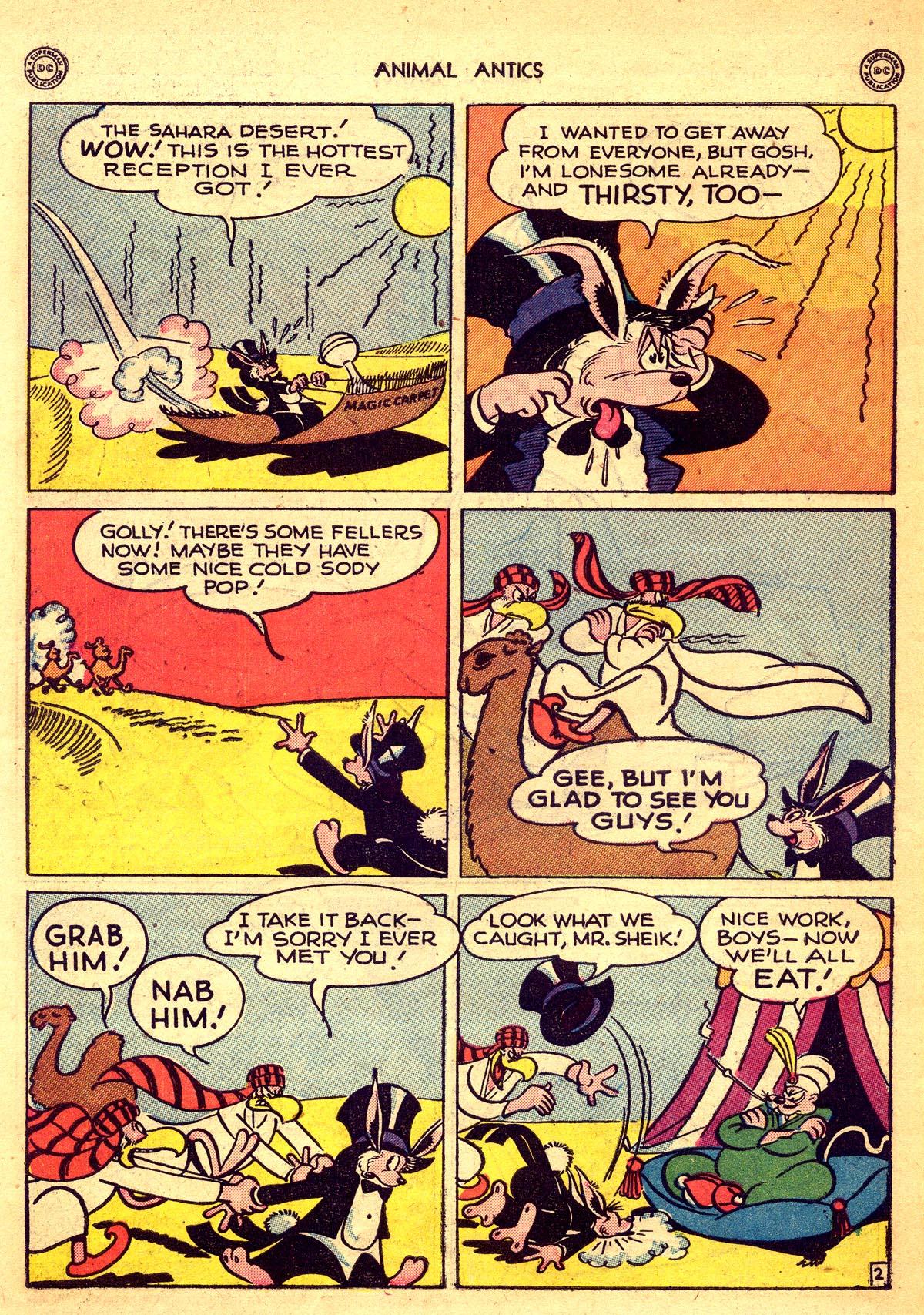Read online Animal Antics comic -  Issue #8 - 42
