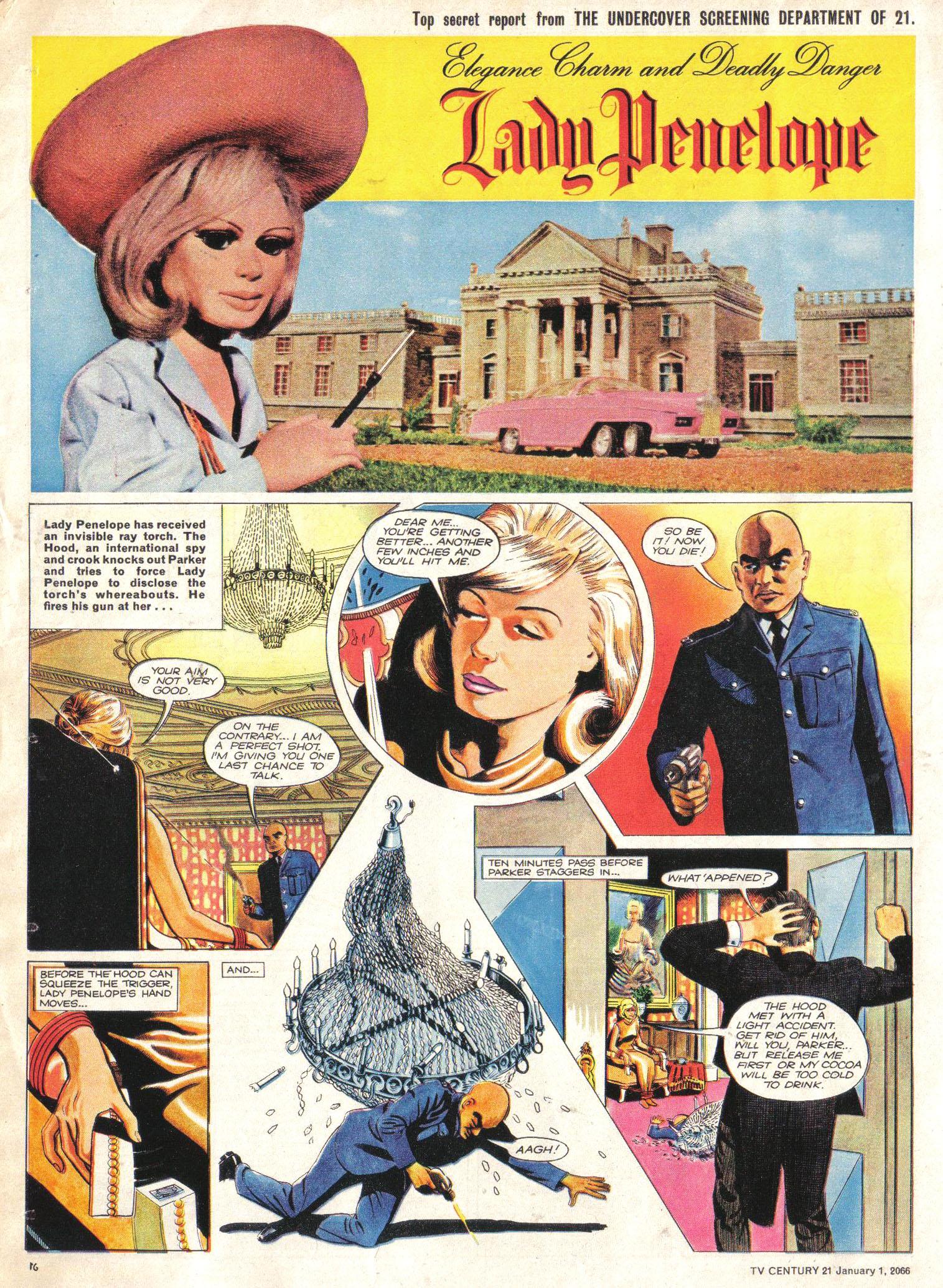 Read online TV Century 21 (TV 21) comic -  Issue #50 - 15