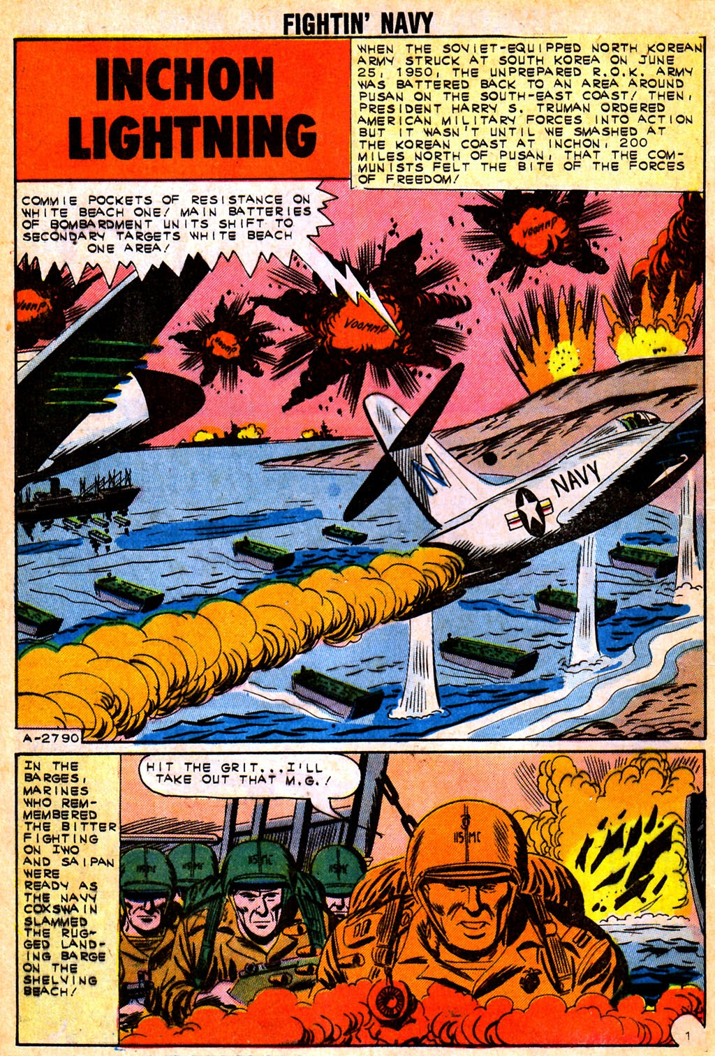 Read online Fightin' Navy comic -  Issue #111 - 8