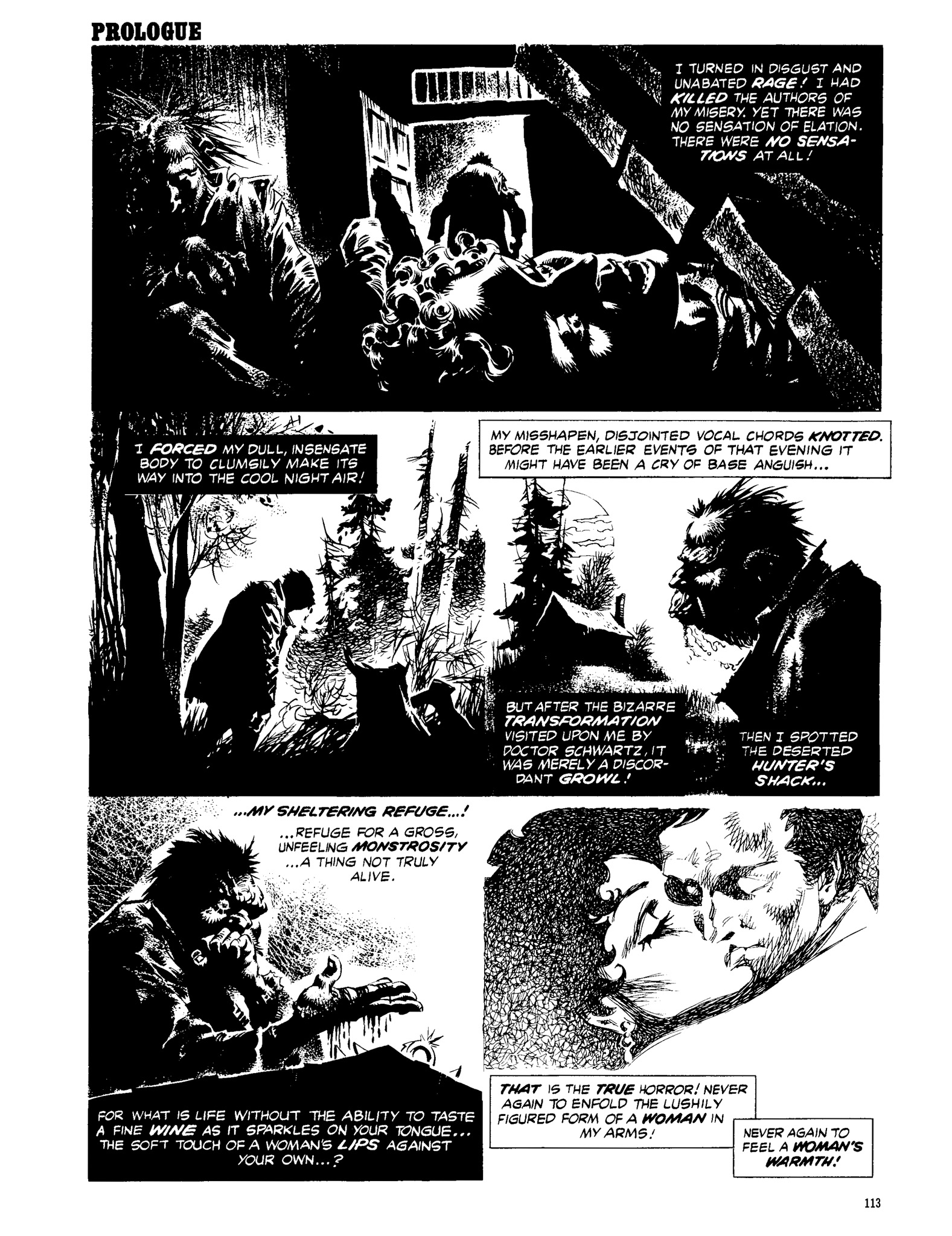 Read online Eerie Archives comic -  Issue # TPB 13 - 114
