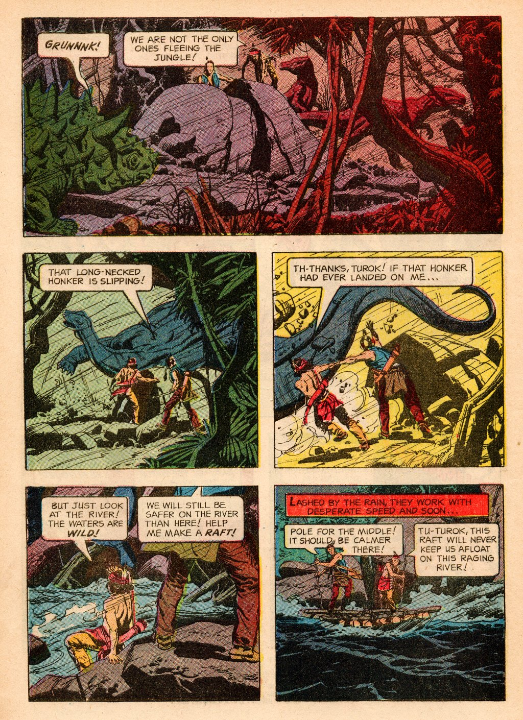 Read online Turok, Son of Stone comic -  Issue #33 - 4