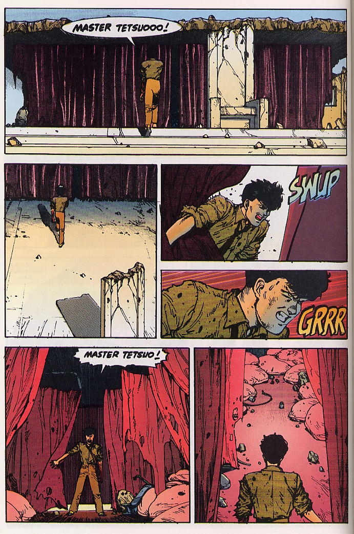 Read online Akira comic -  Issue #24 - 62