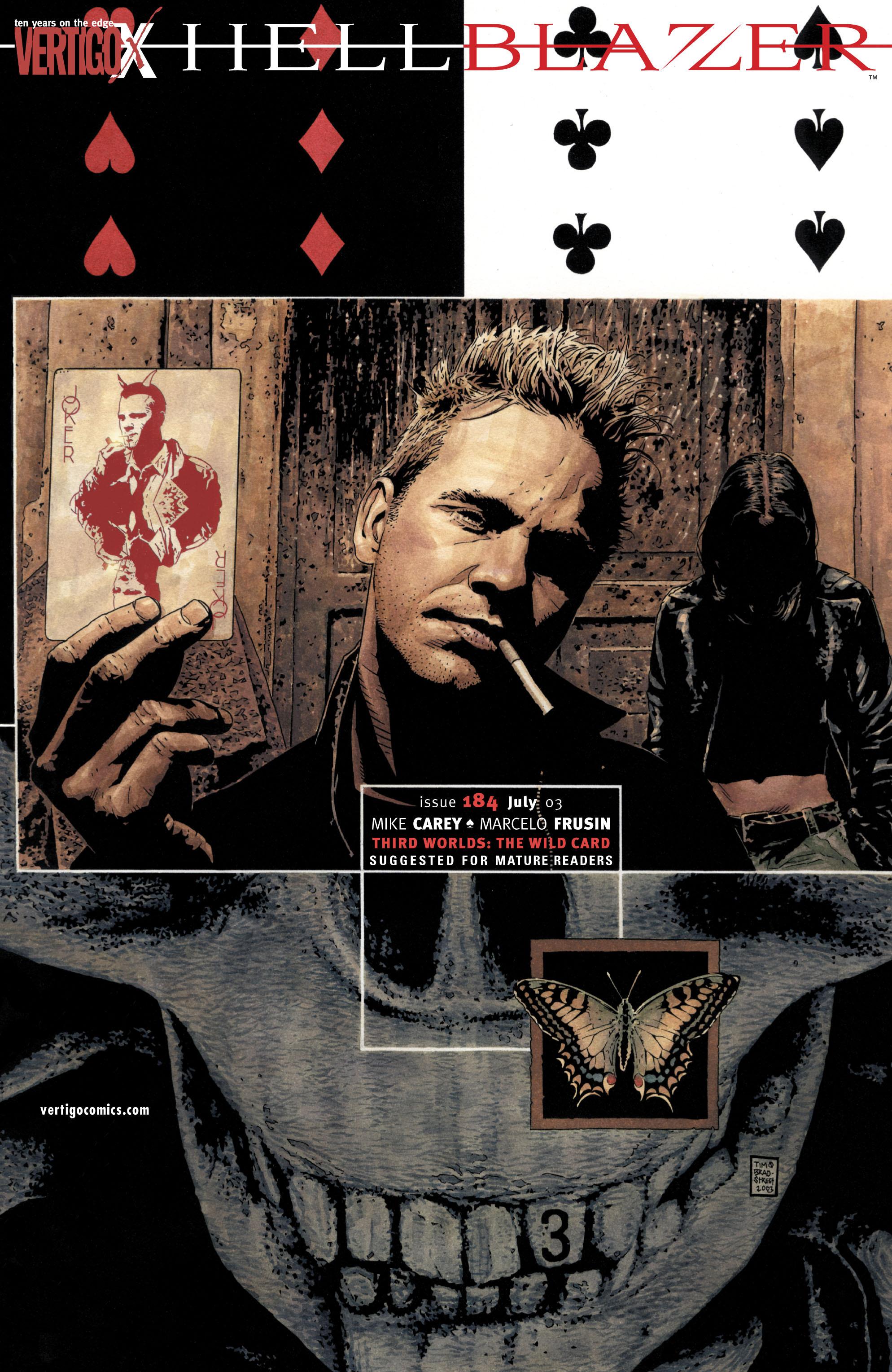 Hellblazer issue 184 - Page 1