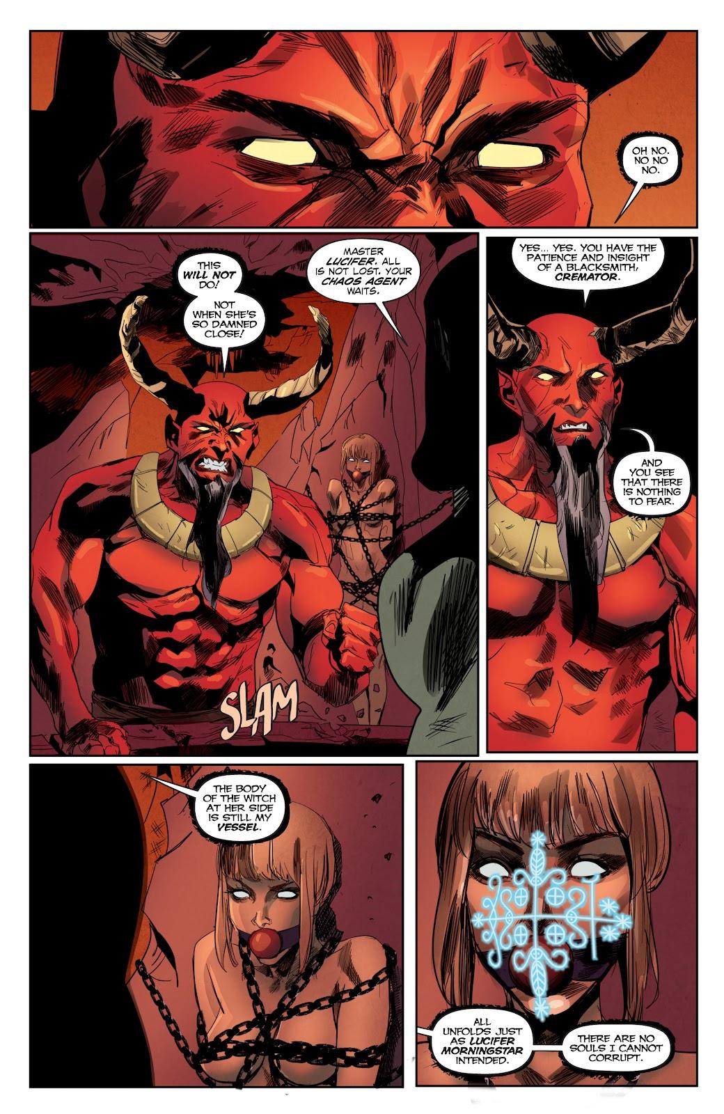Read online Hack/Slash vs. Chaos comic -  Issue #4 - 9