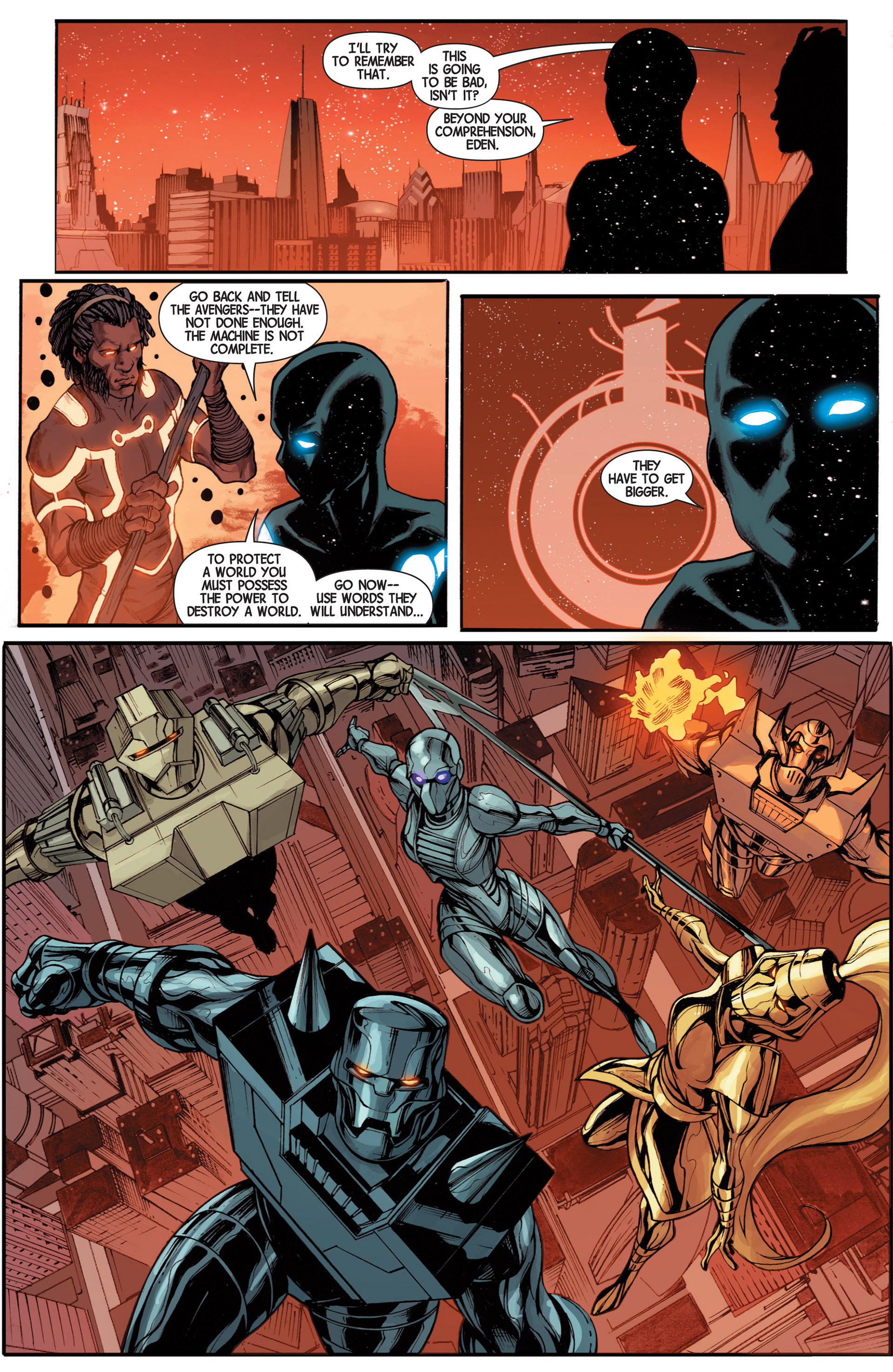 Read online Avengers (2013) comic -  Issue #16 - 8