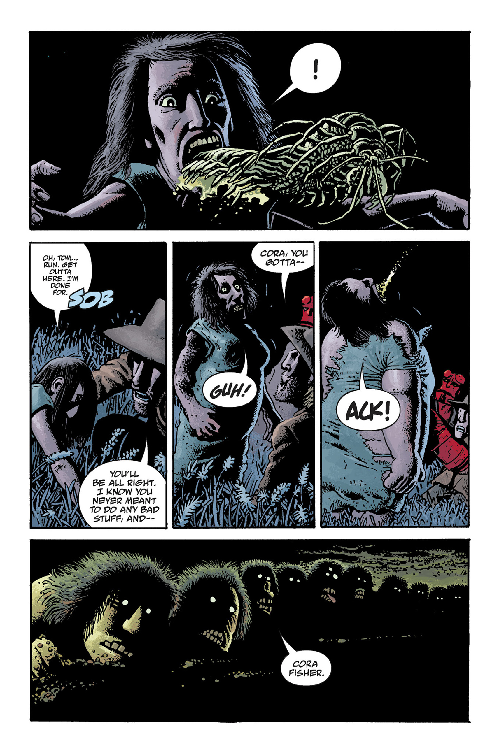 Read online Hellboy: The Crooked Man and Others comic -  Issue # TPB - 42