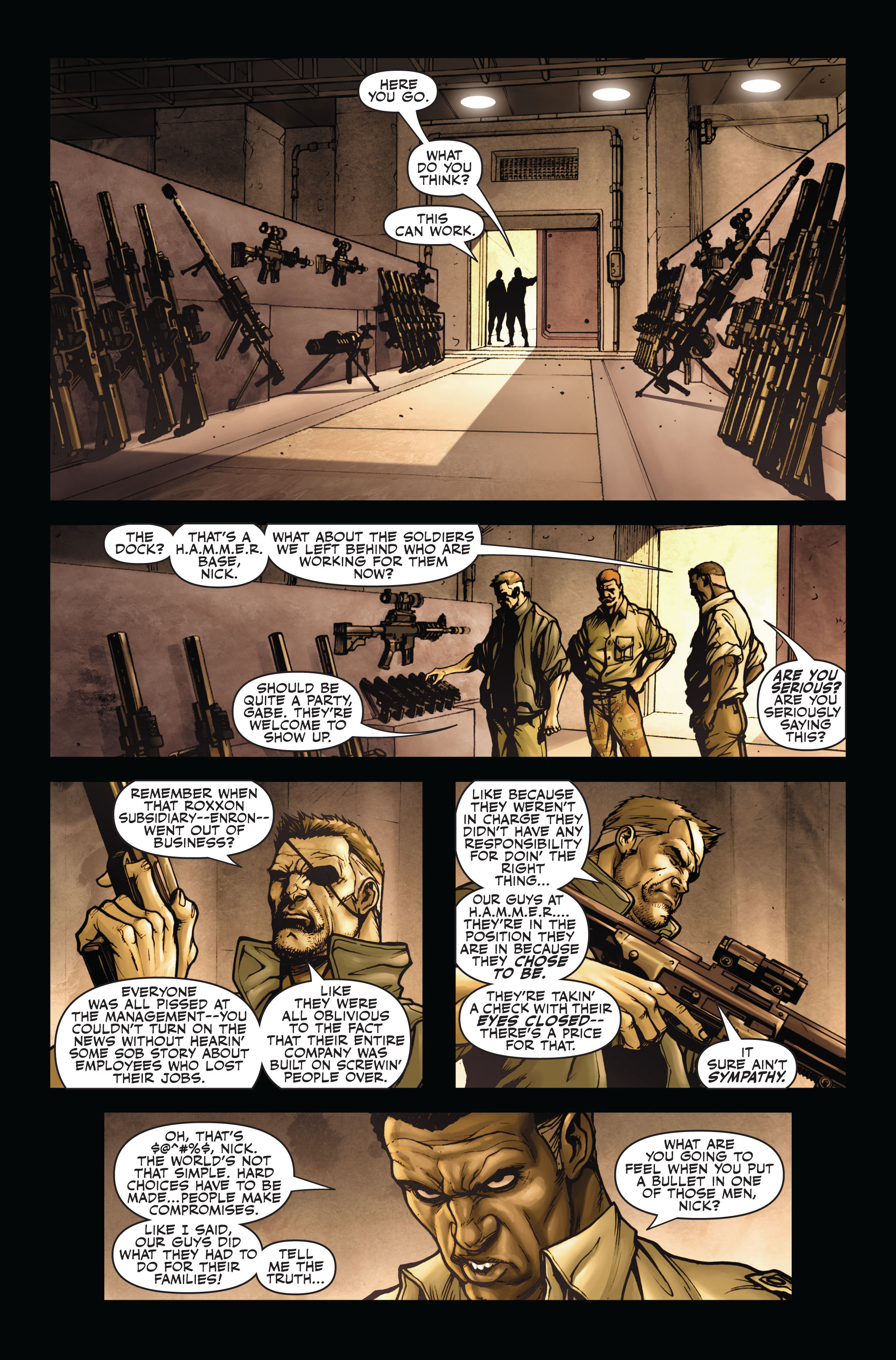 Read online Secret Warriors comic -  Issue #4 - 24
