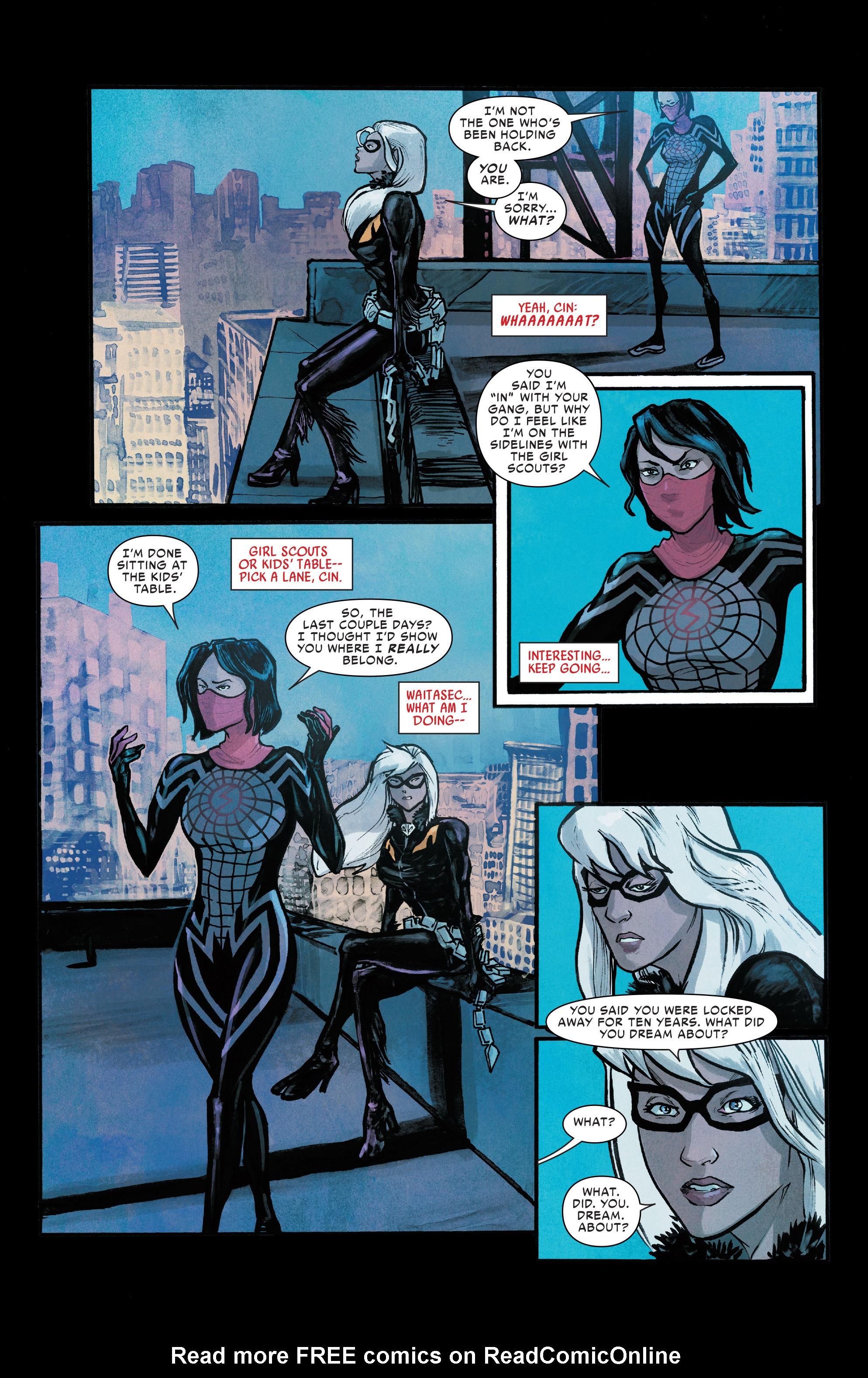 Read online Silk (2016) comic -  Issue #8 - 21