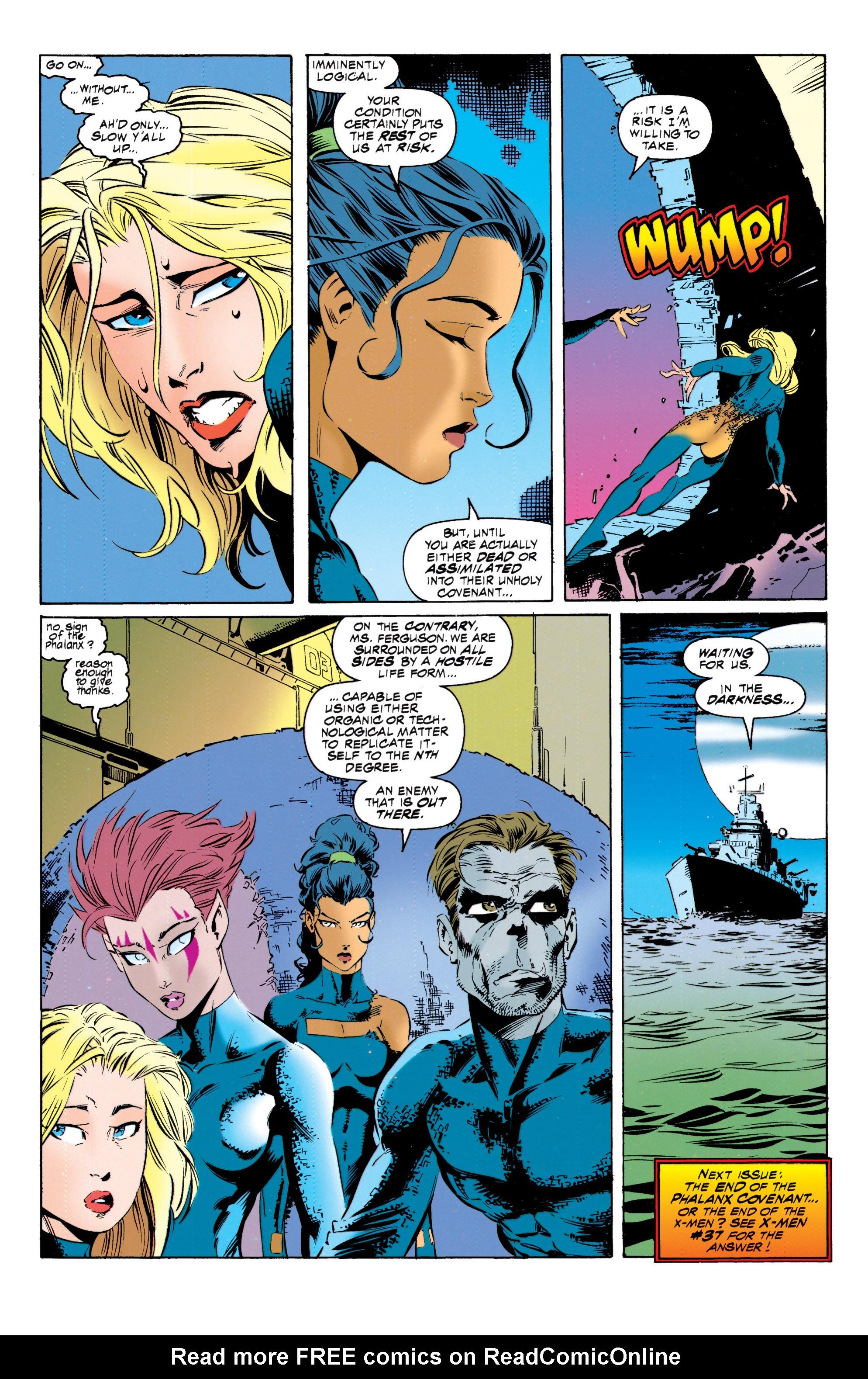 Read online Uncanny X-Men (1963) comic -  Issue #317 - 23