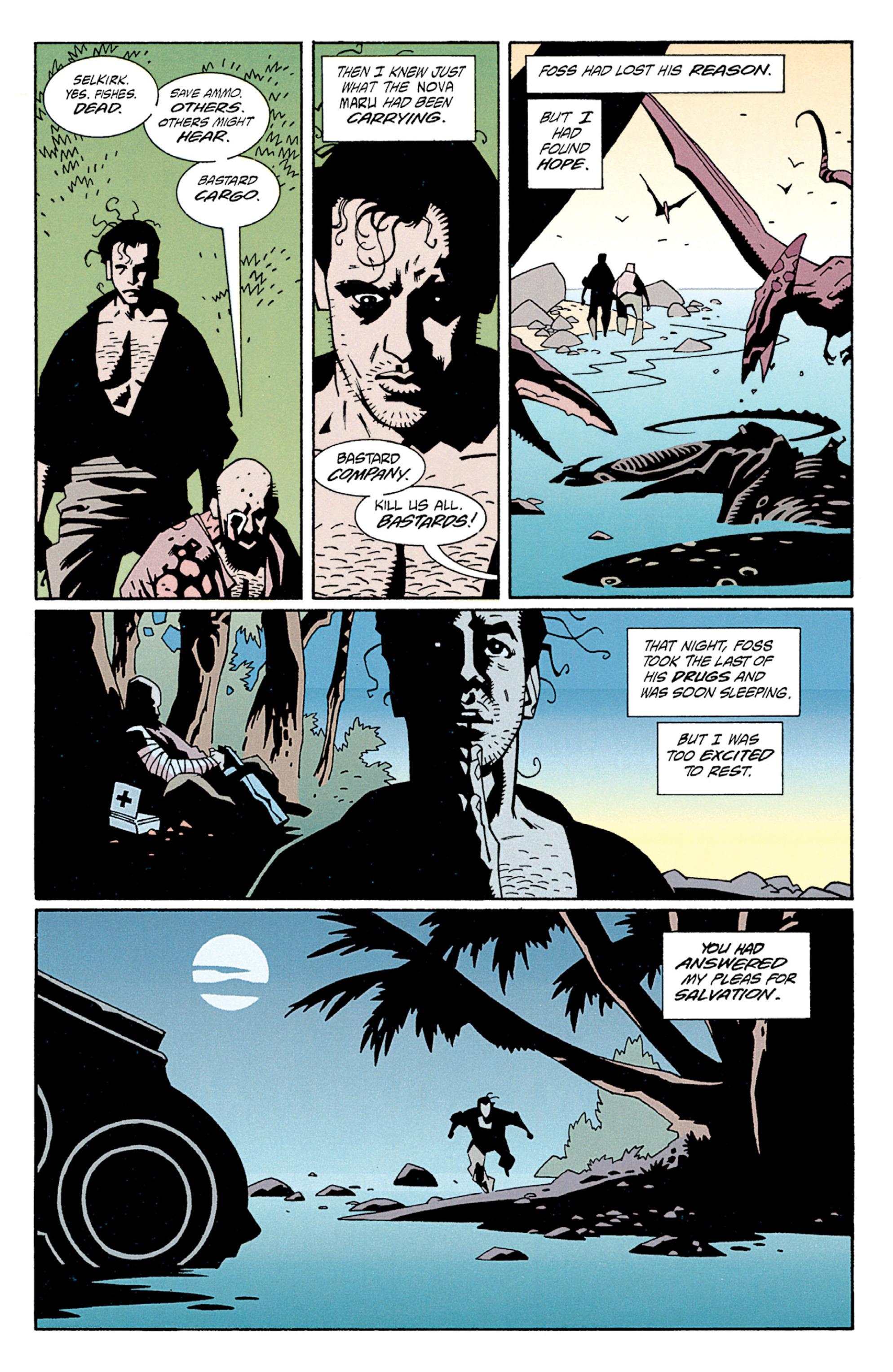 Read online Aliens: Salvation comic -  Issue # TPB - 18