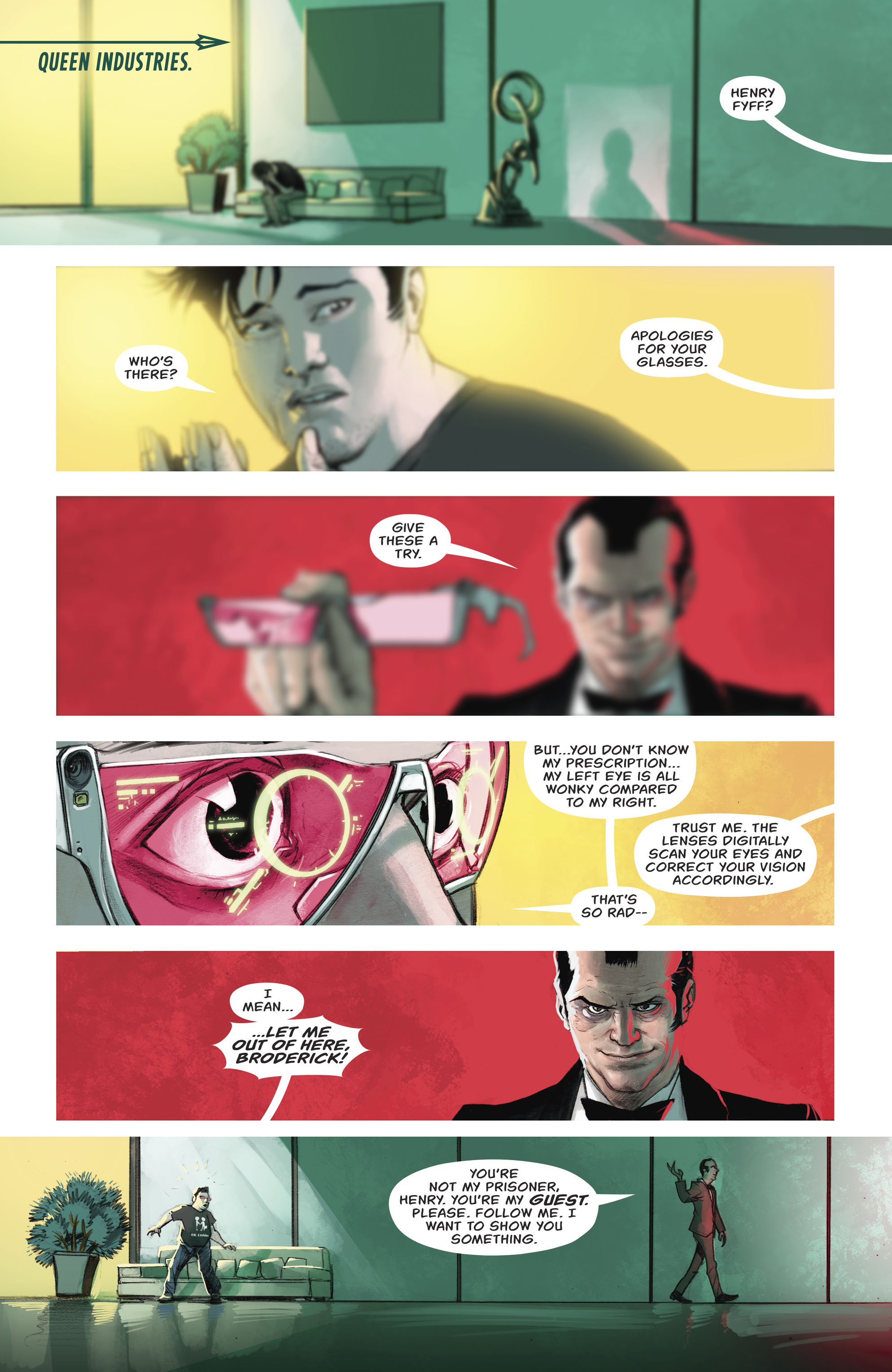 Read online Green Arrow (2016) comic -  Issue #23 - 13