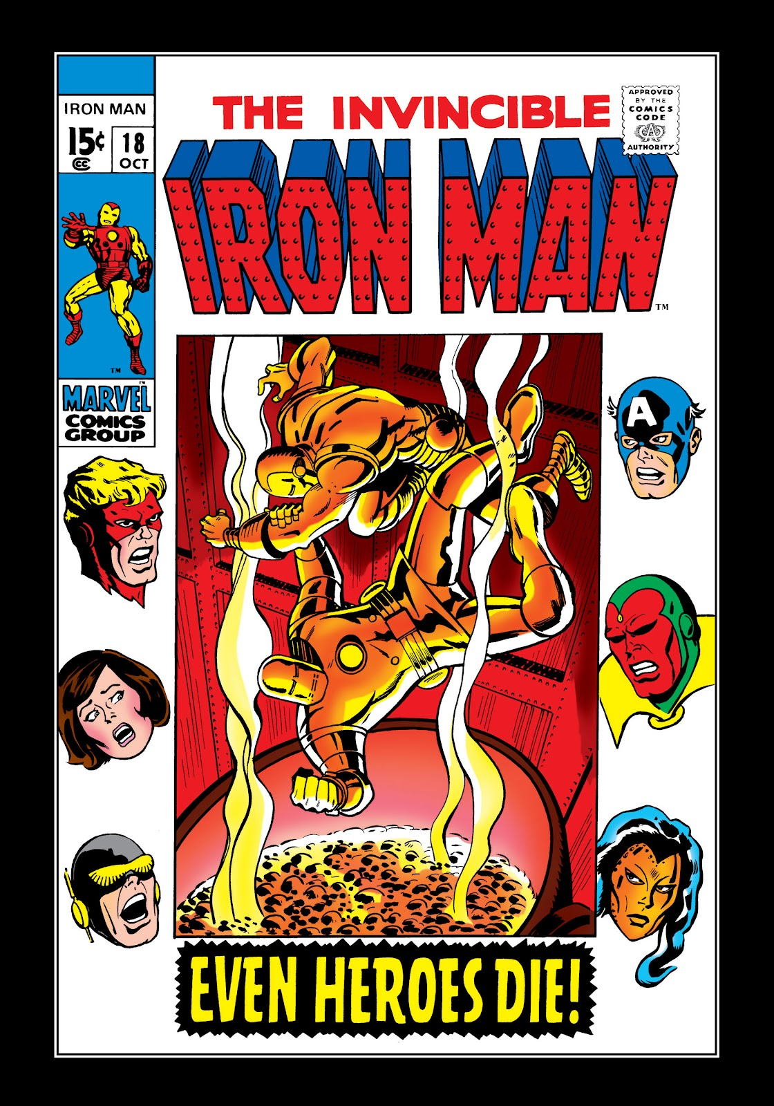 Read online Marvel Masterworks: The Invincible Iron Man comic -  Issue # TPB 6 (Part 1) - 90