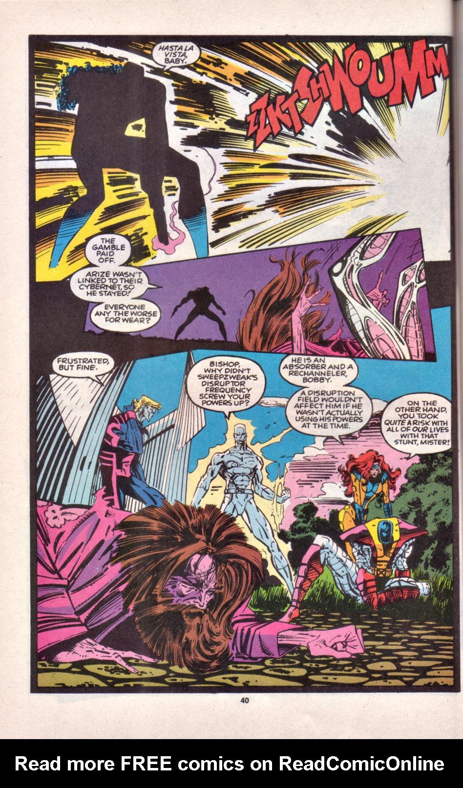 Read online Uncanny X-Men (1963) comic -  Issue # _Annual 16 - 33