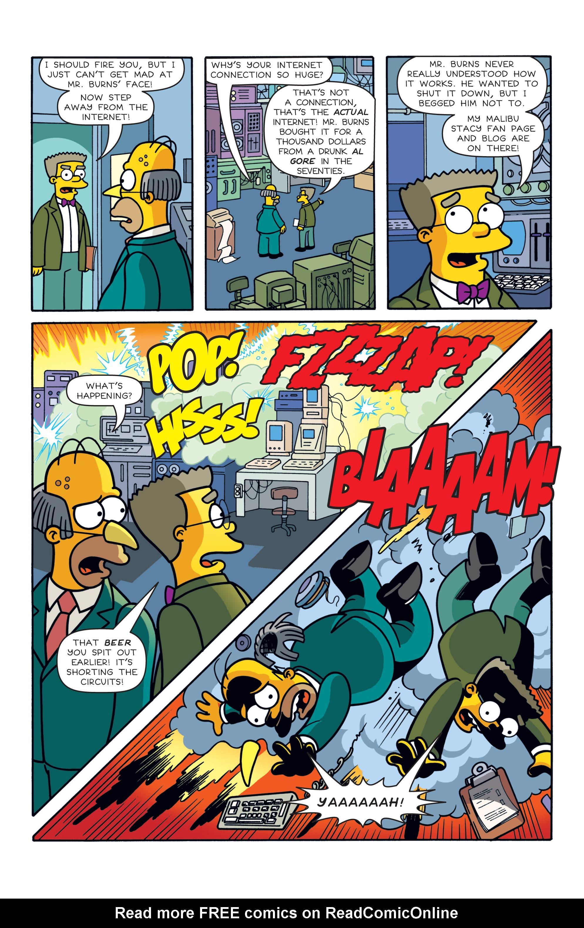 Read online Simpsons Comics comic -  Issue #187 - 5