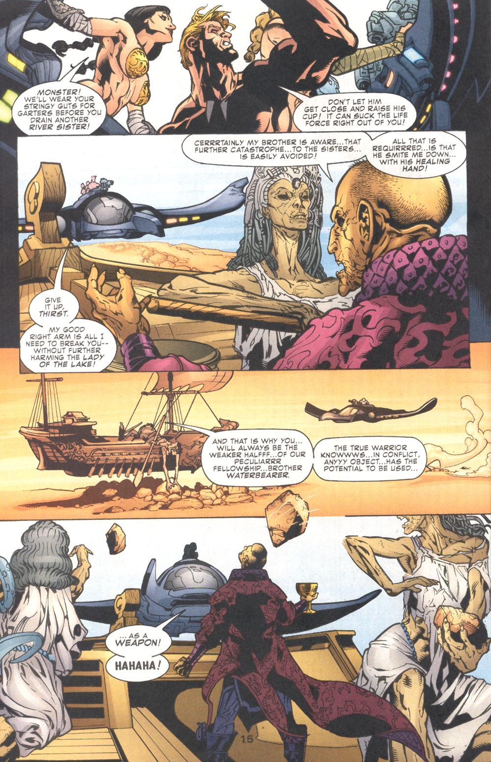 Read online Aquaman (2003) comic -  Issue #9 - 17