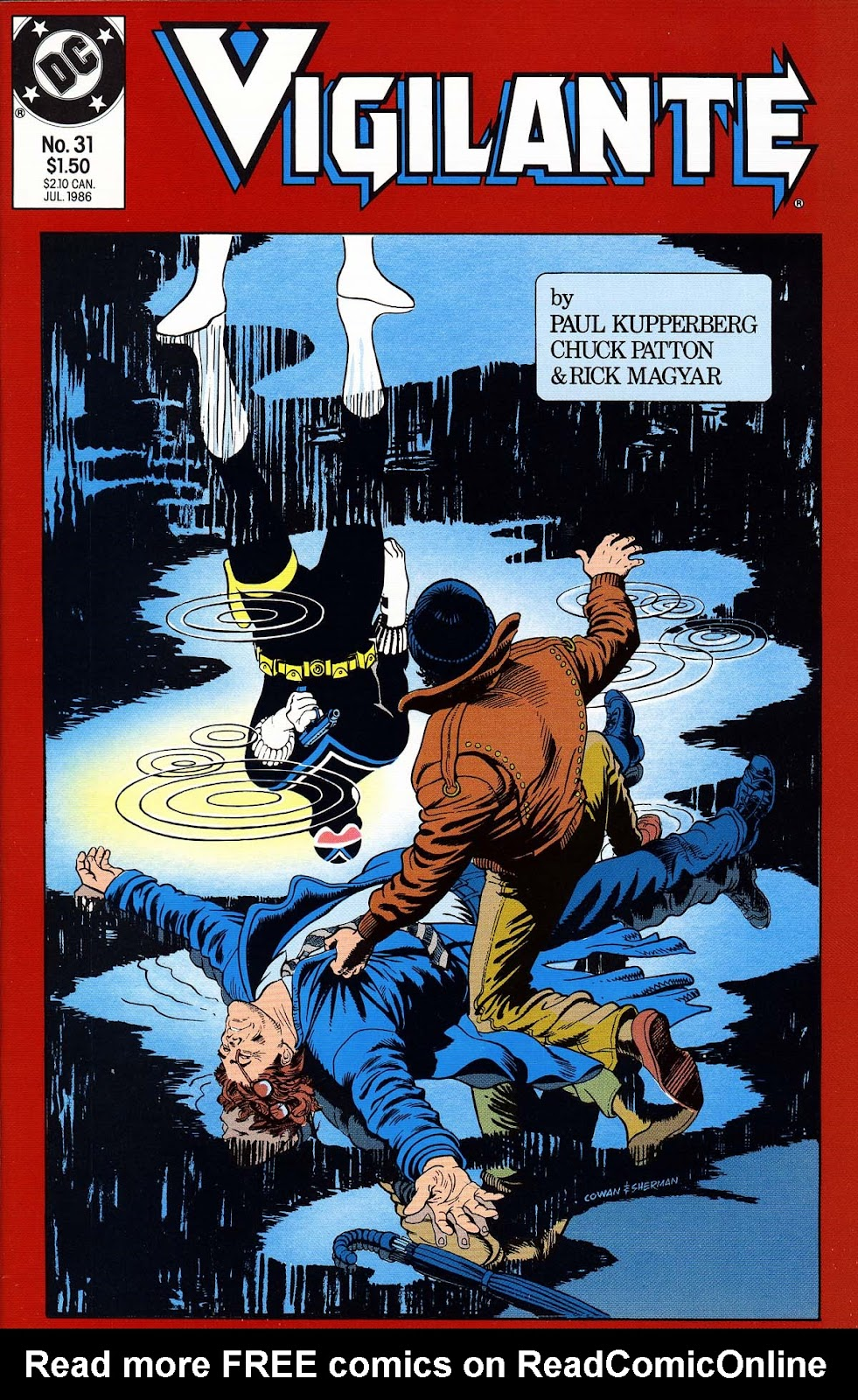 Vigilante (1983) issue 31 - Page 1