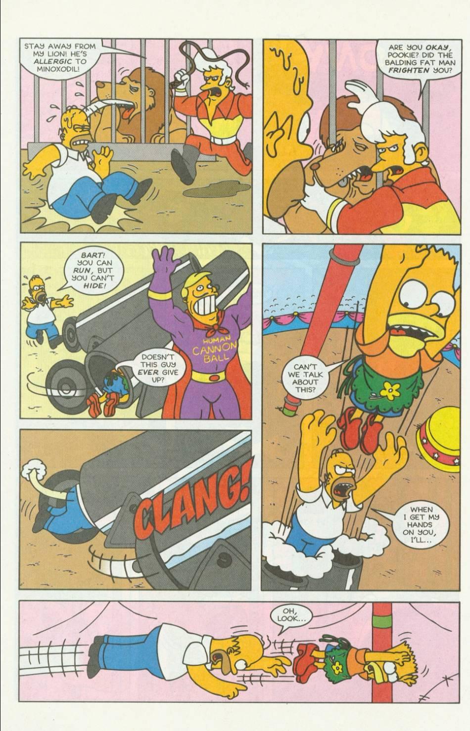 Read online Simpsons Comics comic -  Issue #7 - 17