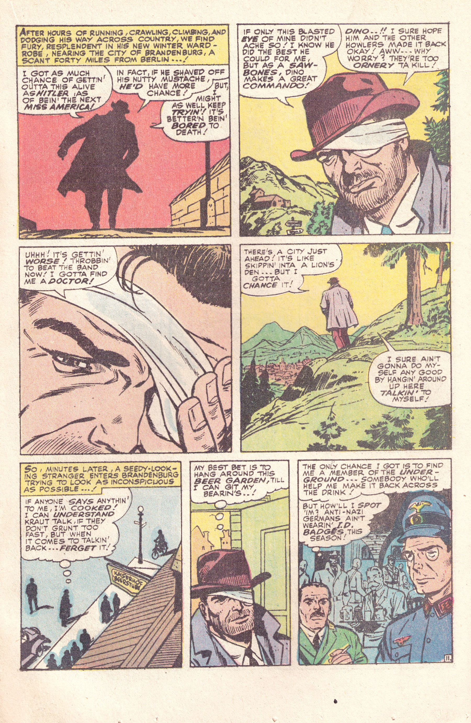Read online Sgt. Fury comic -  Issue #89 - 17