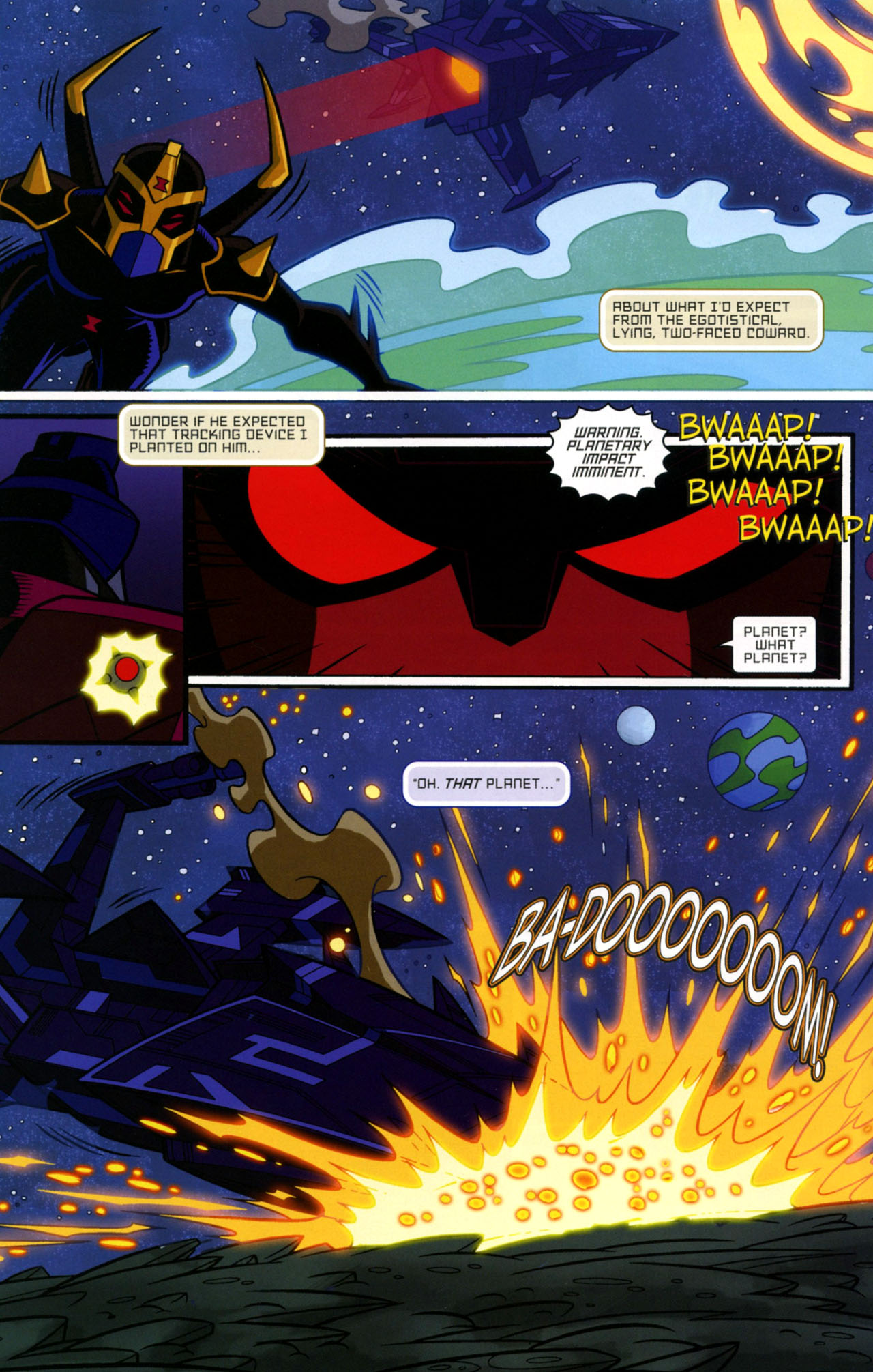Read online Transformers Animated: The Arrival comic -  Issue #1 - 21