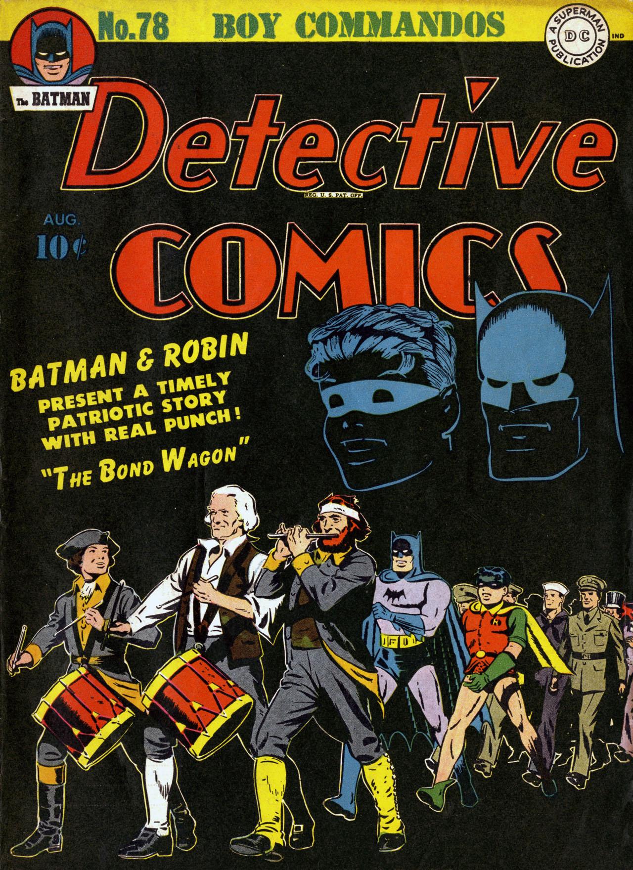 Read online Detective Comics (1937) comic -  Issue #78 - 1