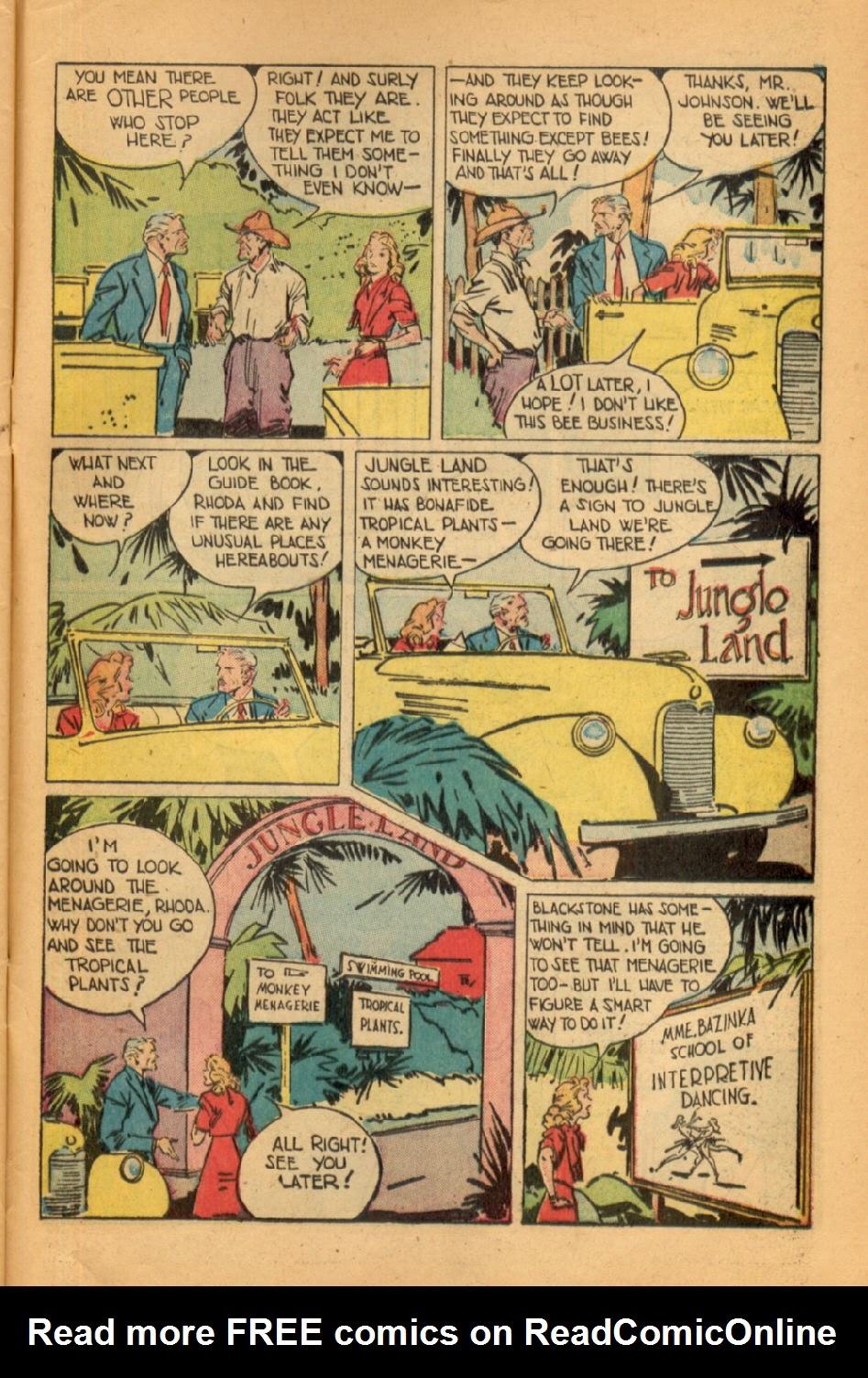 Read online Super-Magician Comics comic -  Issue #45 - 45