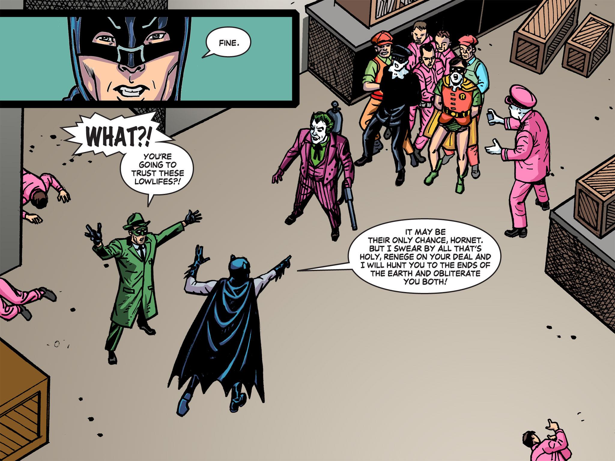 Read online Batman '66 Meets the Green Hornet [II] comic -  Issue #5 - 13