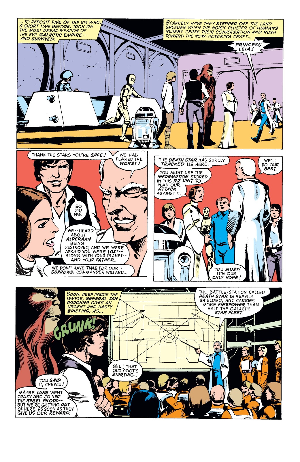 Read online Star Wars Legends: The Original Marvel Years - Epic Collection comic -  Issue # TPB 1 (Part 1) - 92