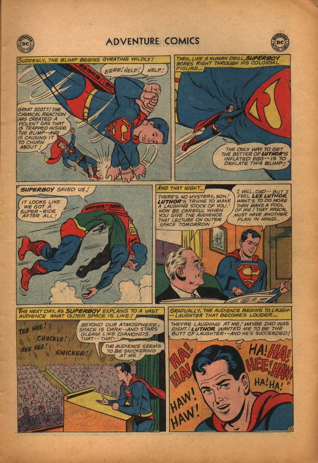 Read online Adventure Comics (1938) comic -  Issue #292 - 11