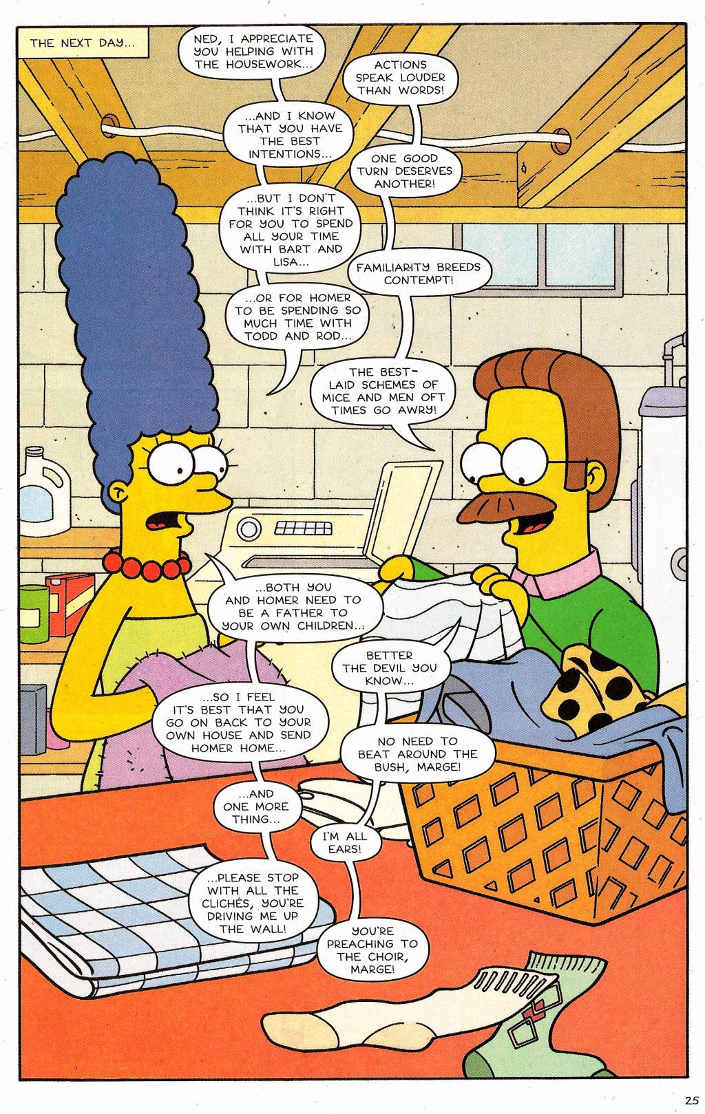 Read online Simpsons Comics comic -  Issue #124 - 21