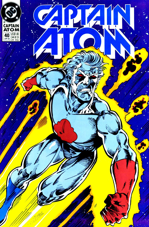 Captain Atom (1987) 40 Page 1
