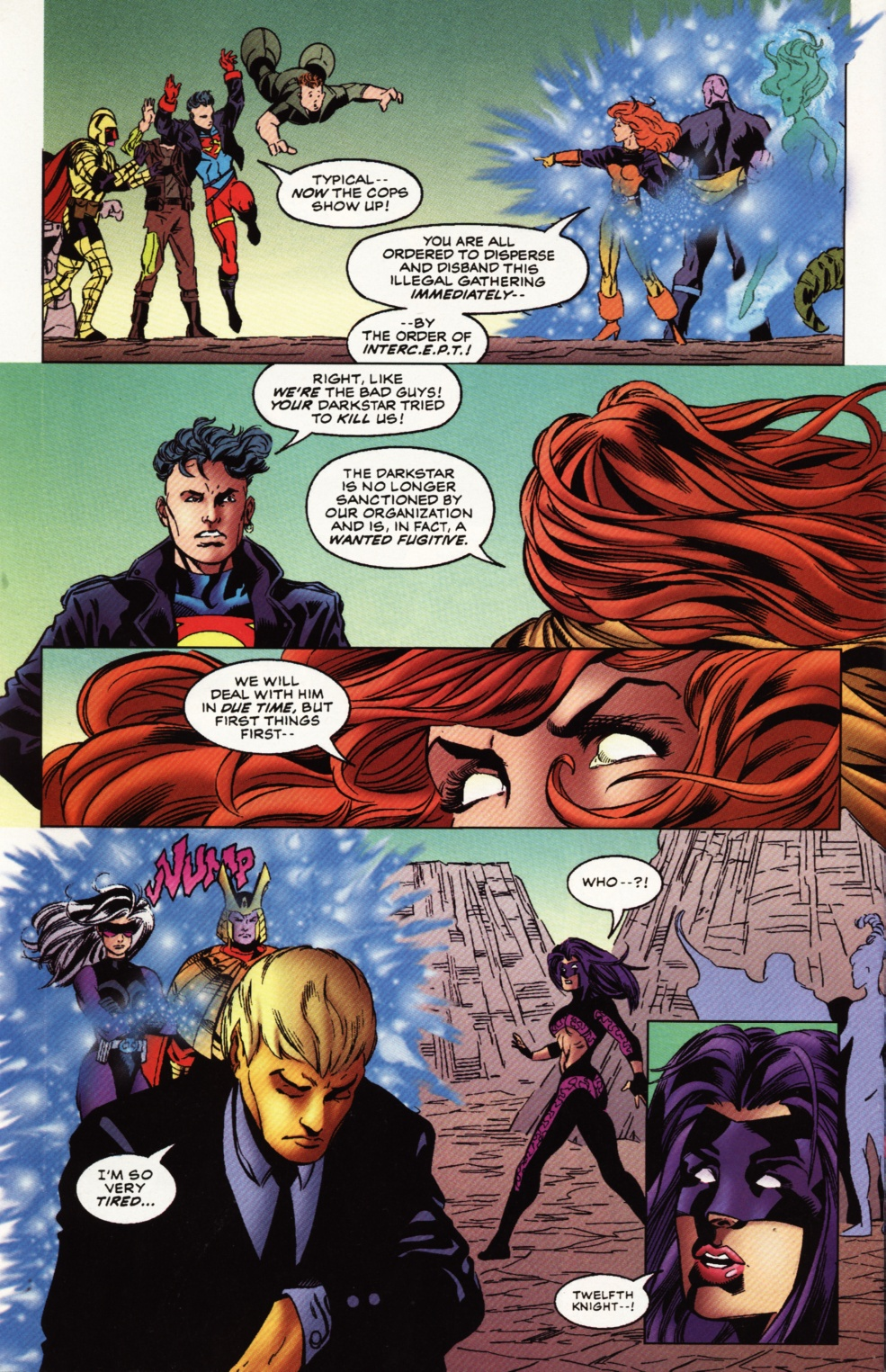 Read online Superboy & The Ravers comic -  Issue #12 - 23