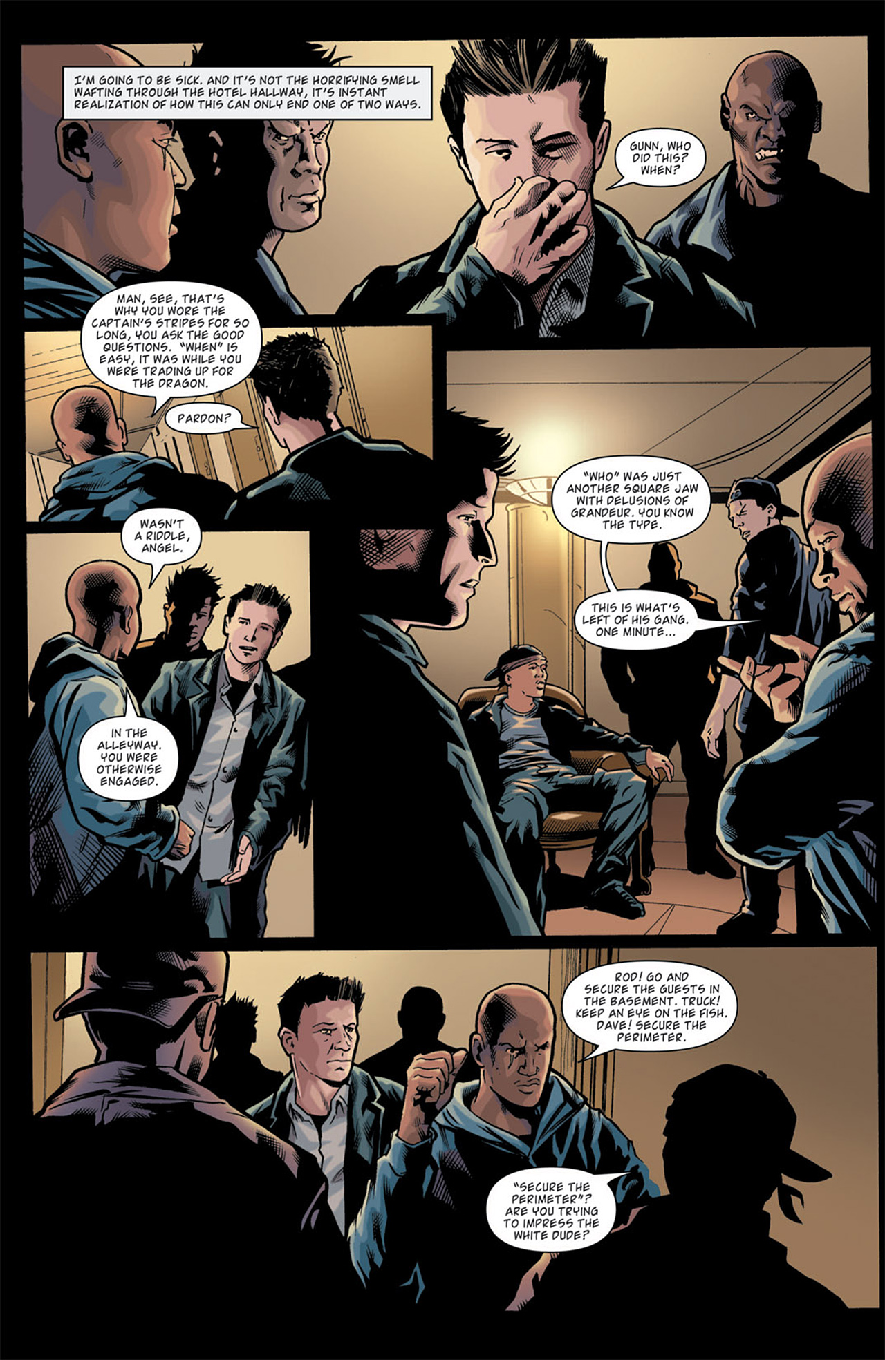 Read online Angel: After The Fall comic -  Issue #11 - 11