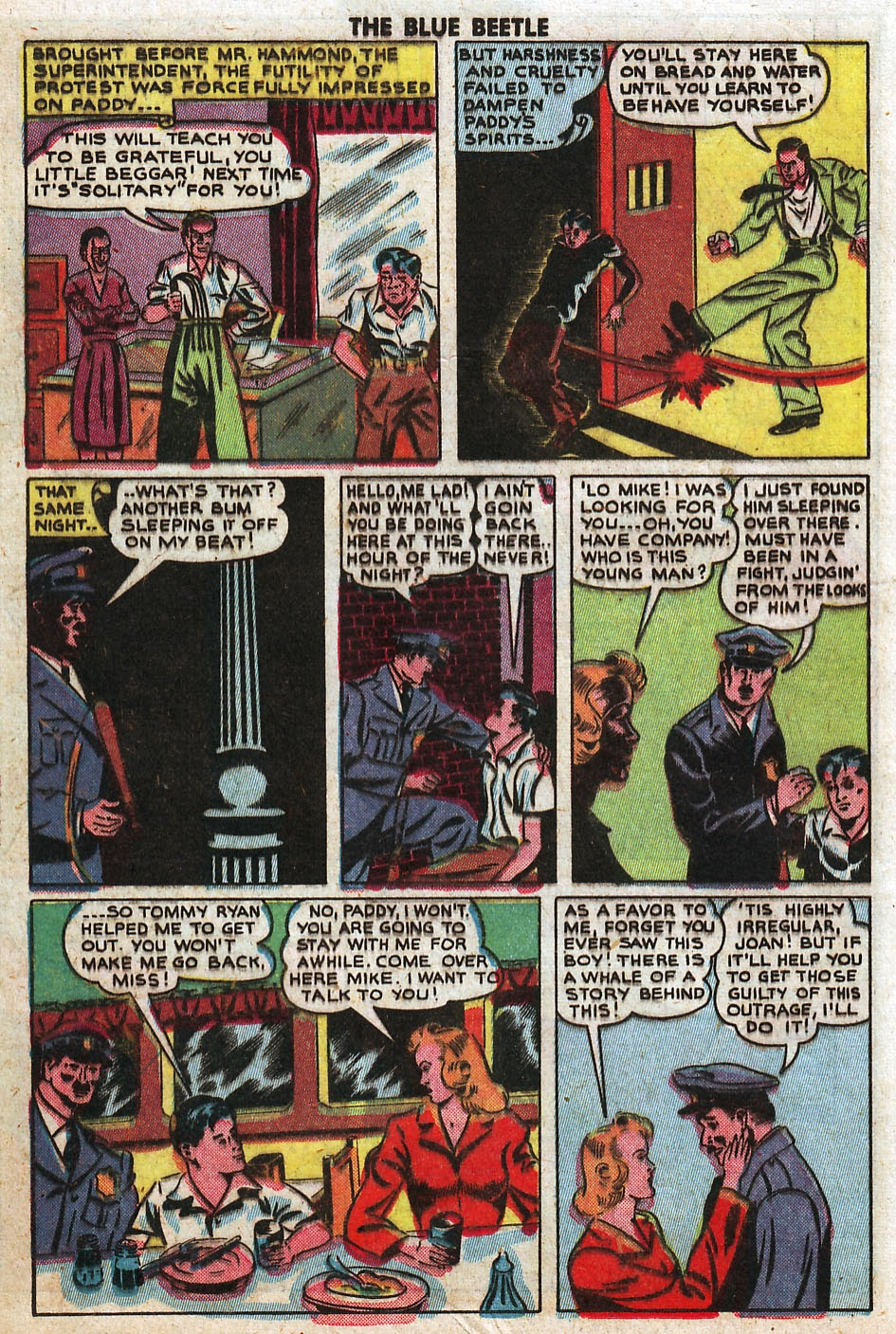 The Blue Beetle issue 33 - Page 28