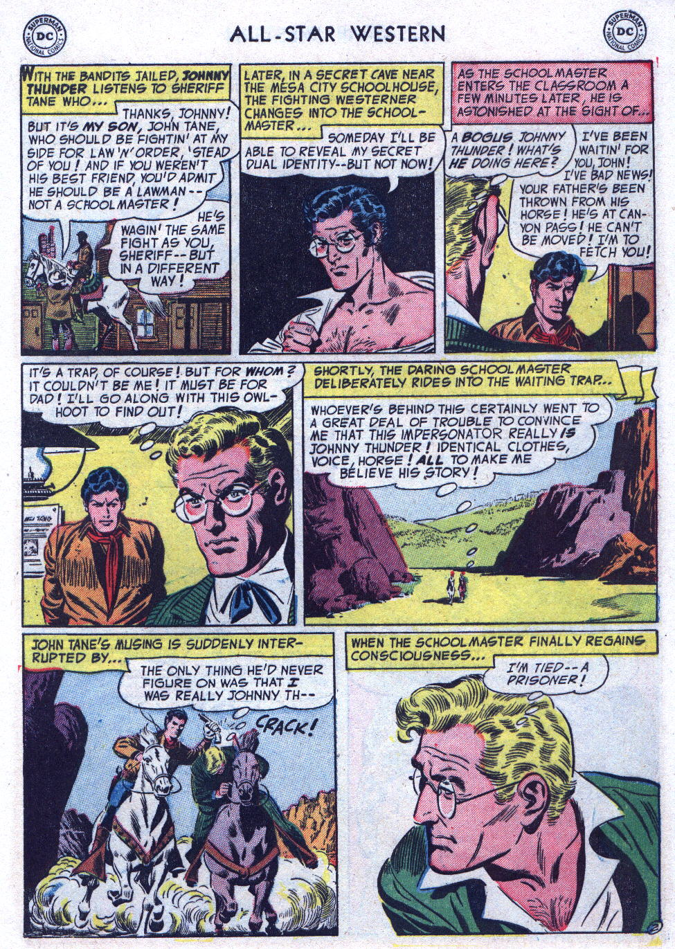 Read online All-Star Western (1951) comic -  Issue #74 - 29