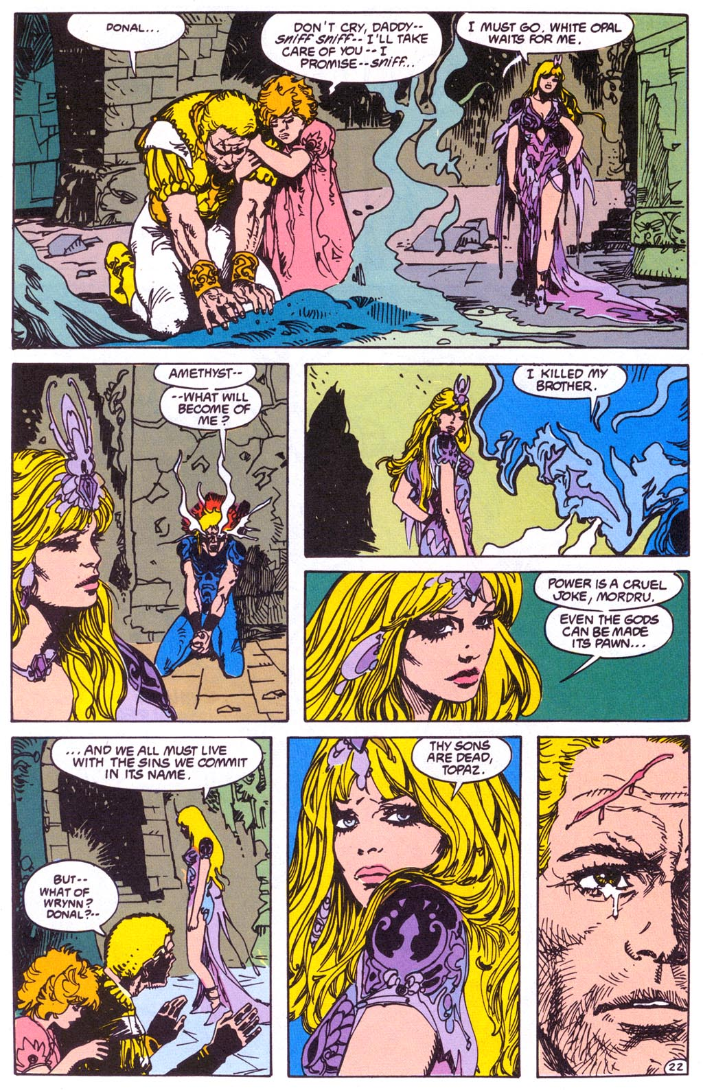 Read online Amethyst (1987) comic -  Issue #3 - 24