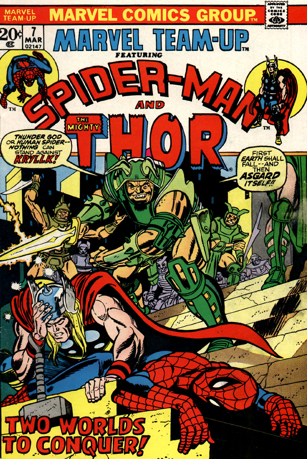 Marvel Team-Up (1972) issue 7 - Page 1