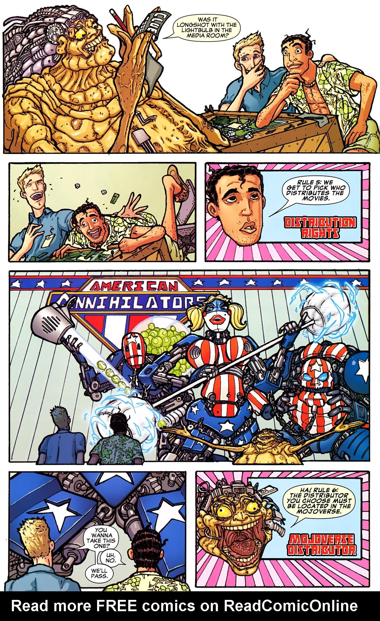 Read online Astonishing Tales (2009) comic -  Issue #2 - 33