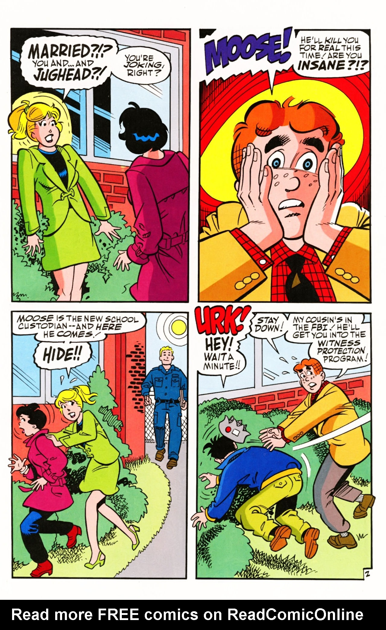 Read online Archie (1960) comic -  Issue #605 - 5