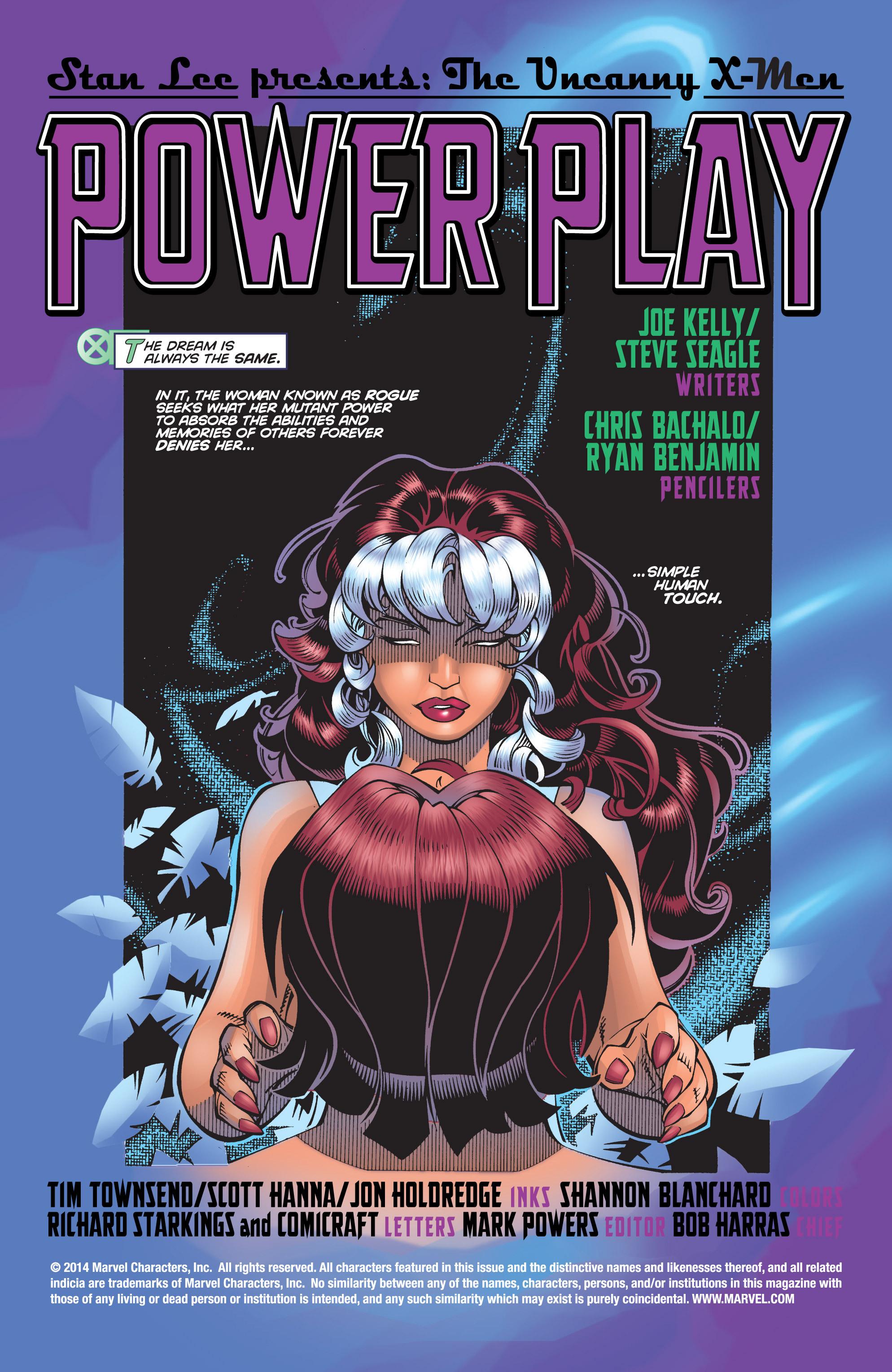 Read online Uncanny X-Men (1963) comic -  Issue #359 - 2
