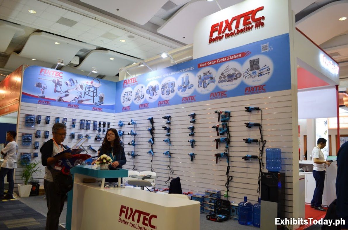Fixtec Exhibit Booth