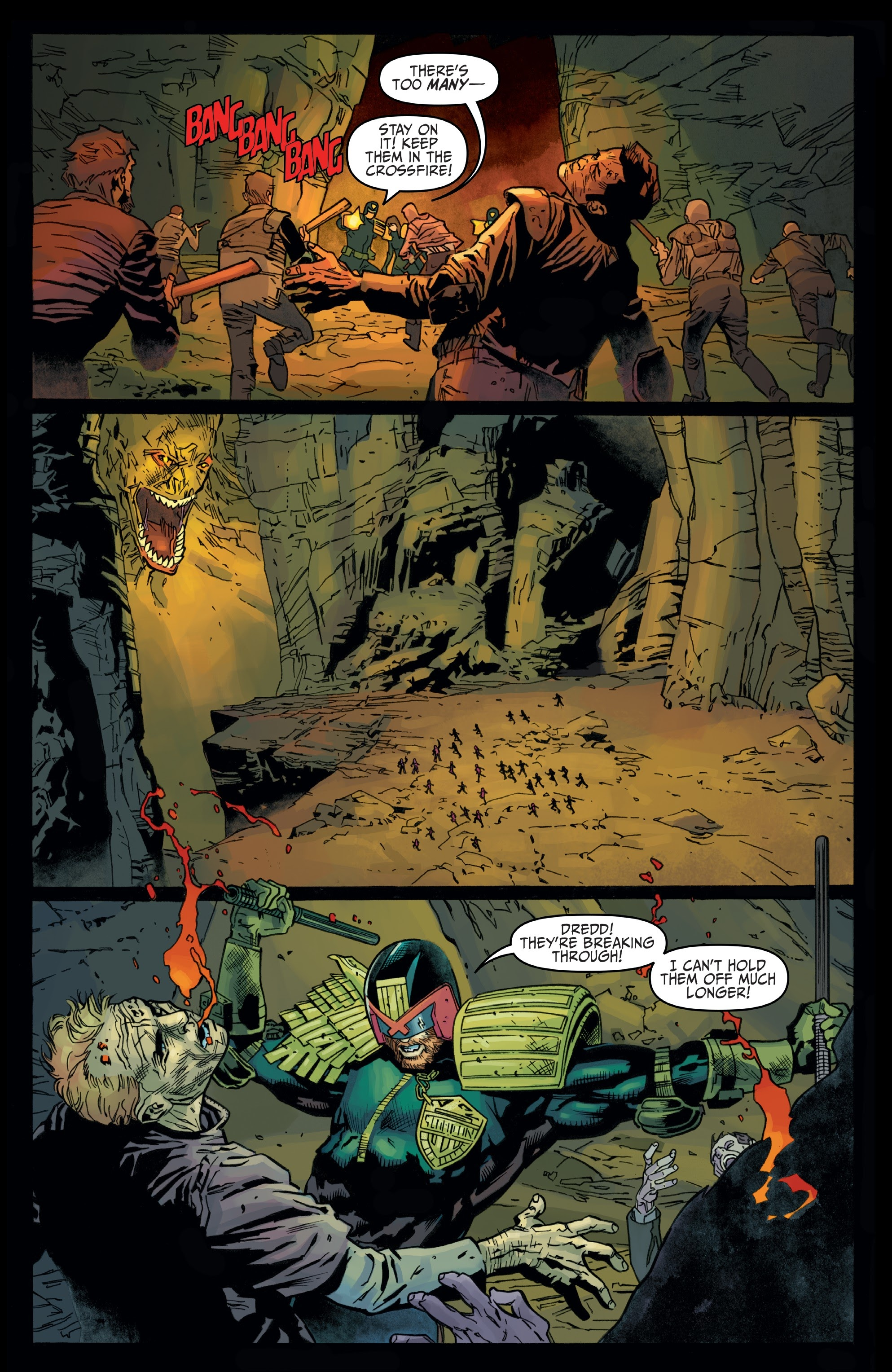 Judge Dredd: Toxic #4 #4 - English 12