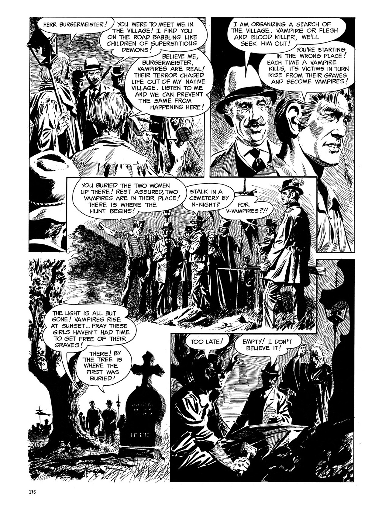 Read online Eerie Archives comic -  Issue # TPB 3 - 177