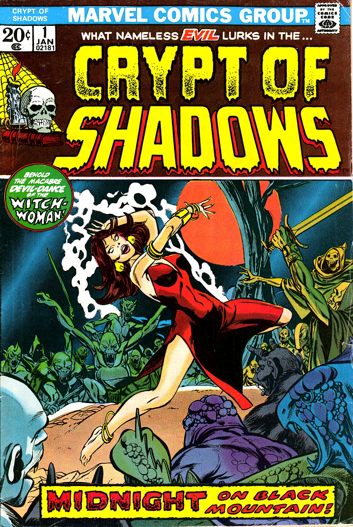Read online Crypt of Shadows comic -  Issue #1 - 1