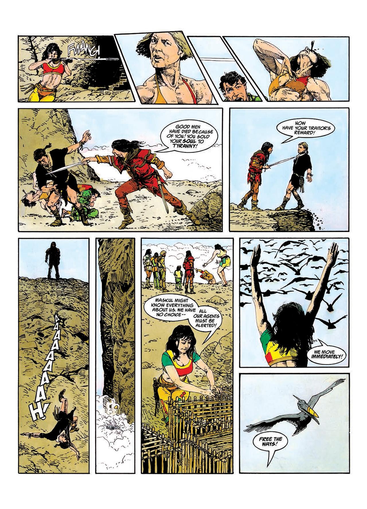 Read online Mazeworld comic -  Issue # TPB - 38