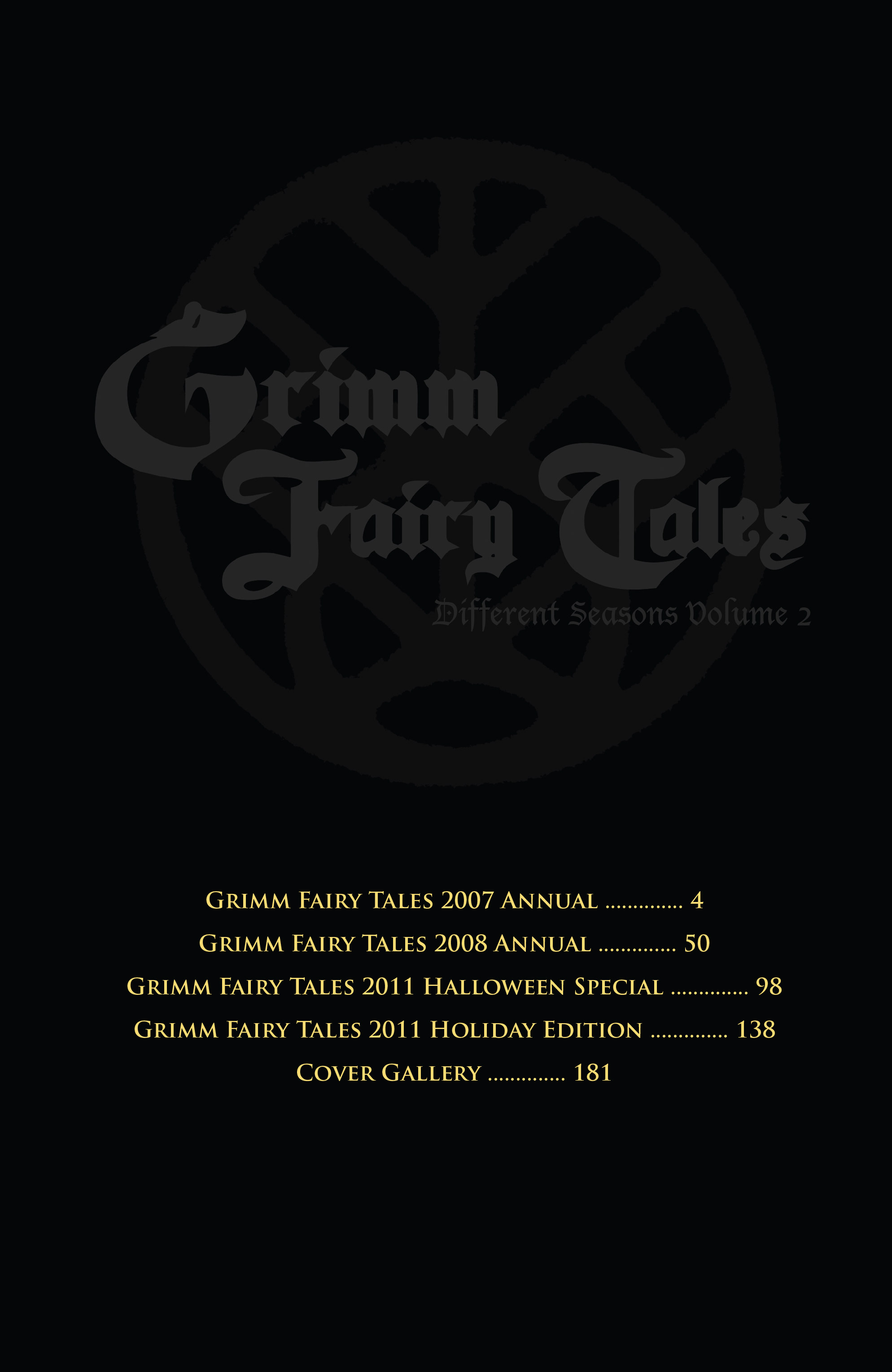 Read online Grimm Fairy Tales: Different Seasons comic -  Issue # TPB 2 - 4