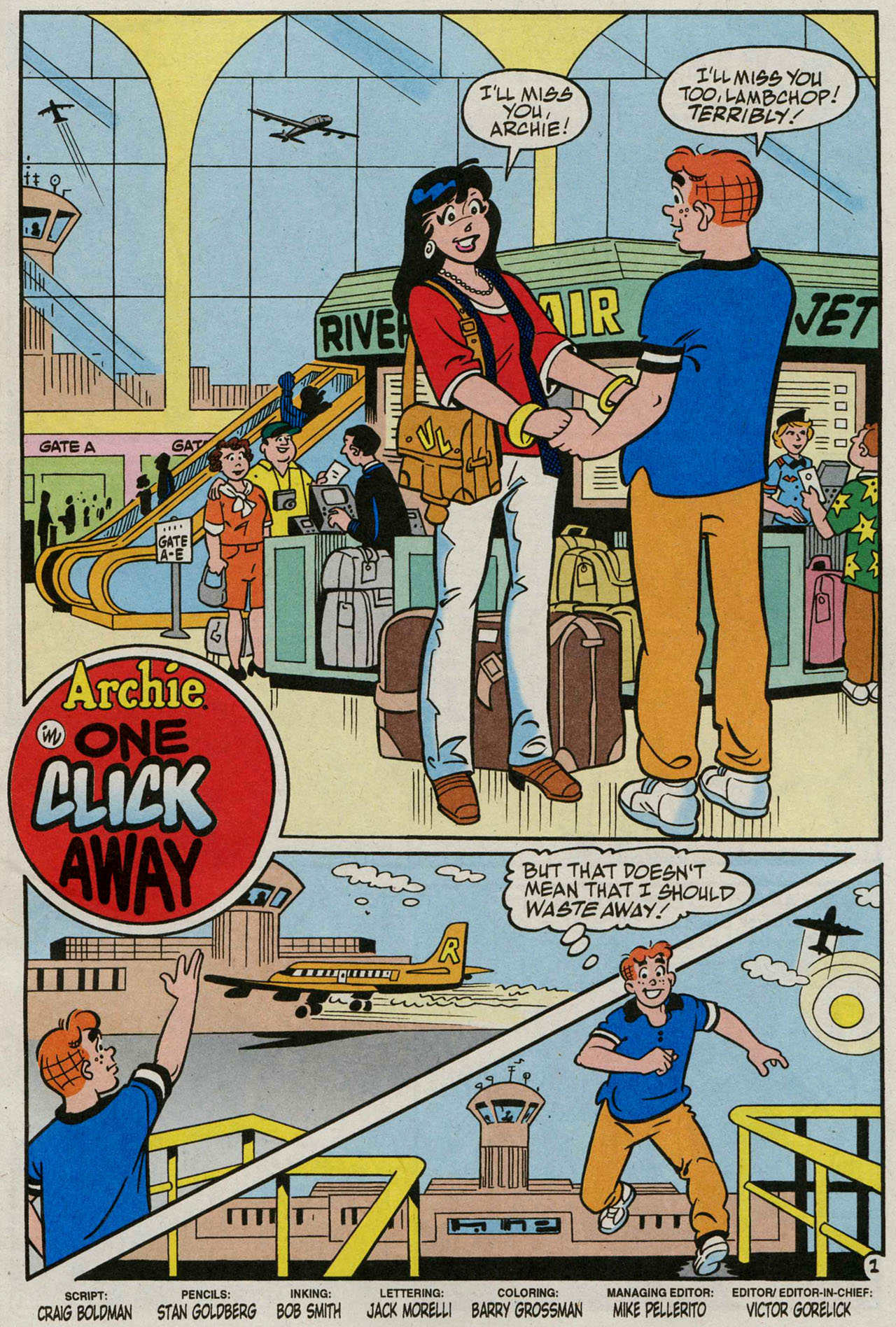 Read online Archie (1960) comic -  Issue #586 - 2