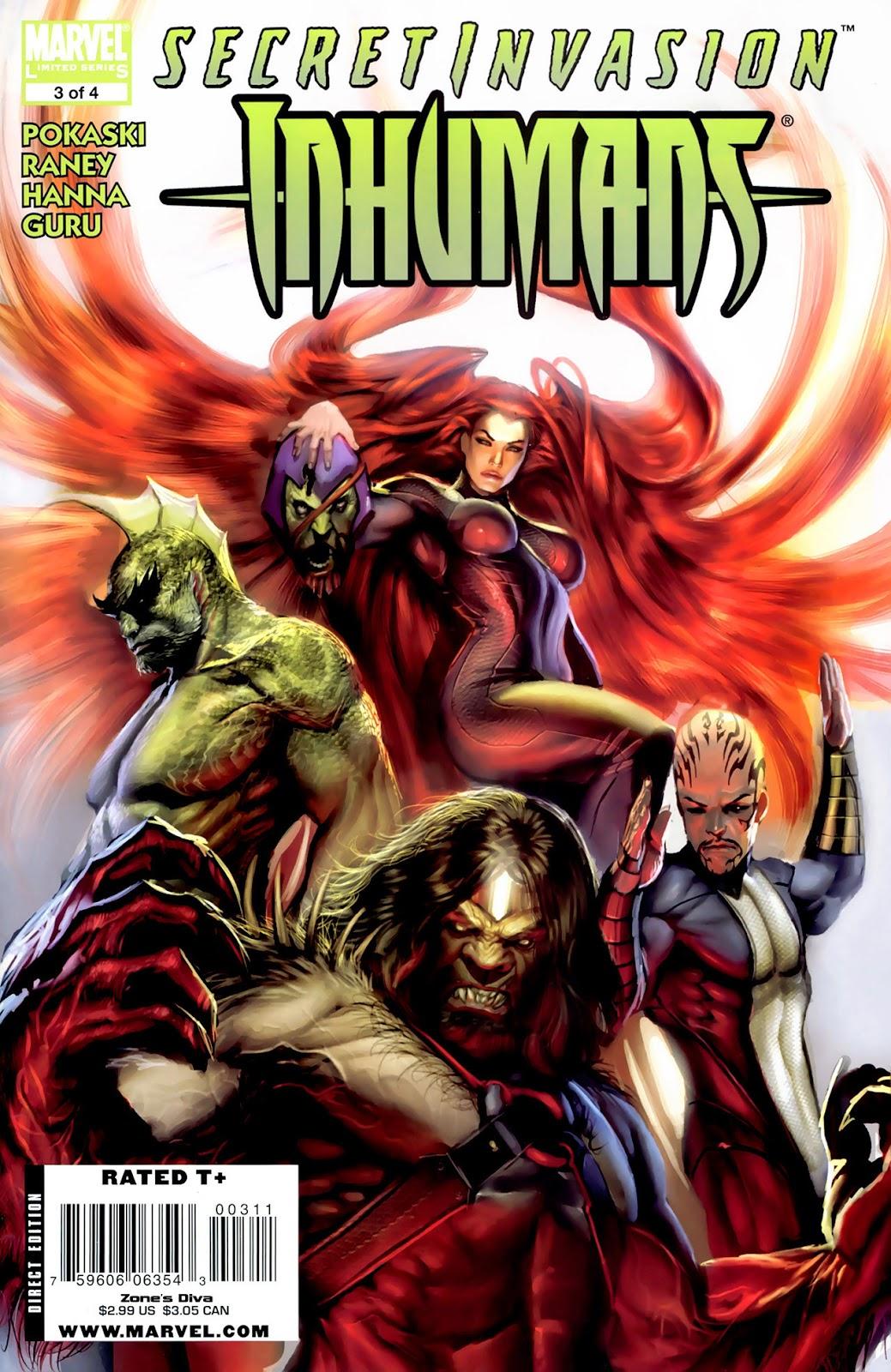 Secret Invasion: Inhumans issue 3 - Page 1