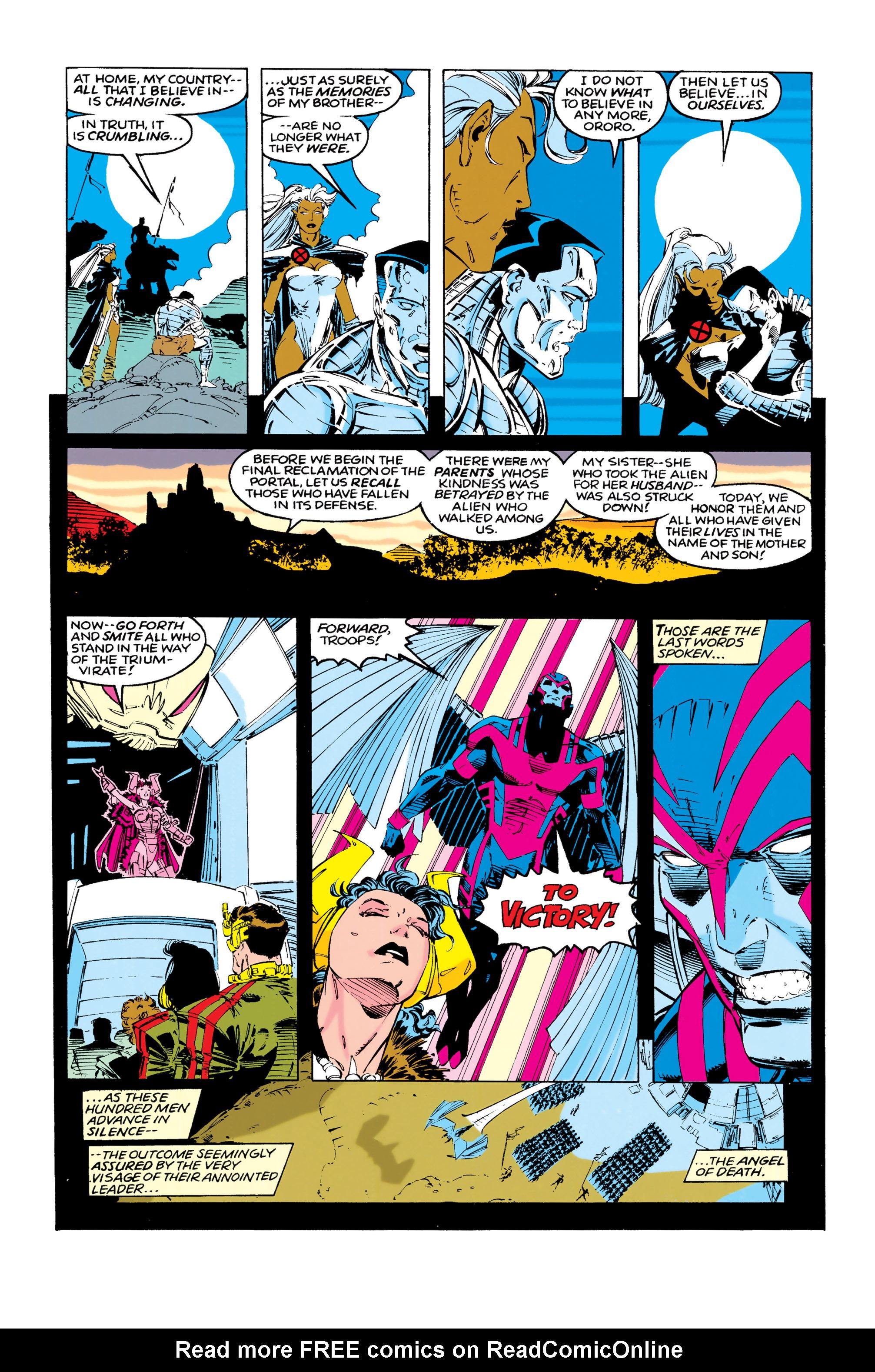 Read online Uncanny X-Men (1963) comic -  Issue #286 - 14