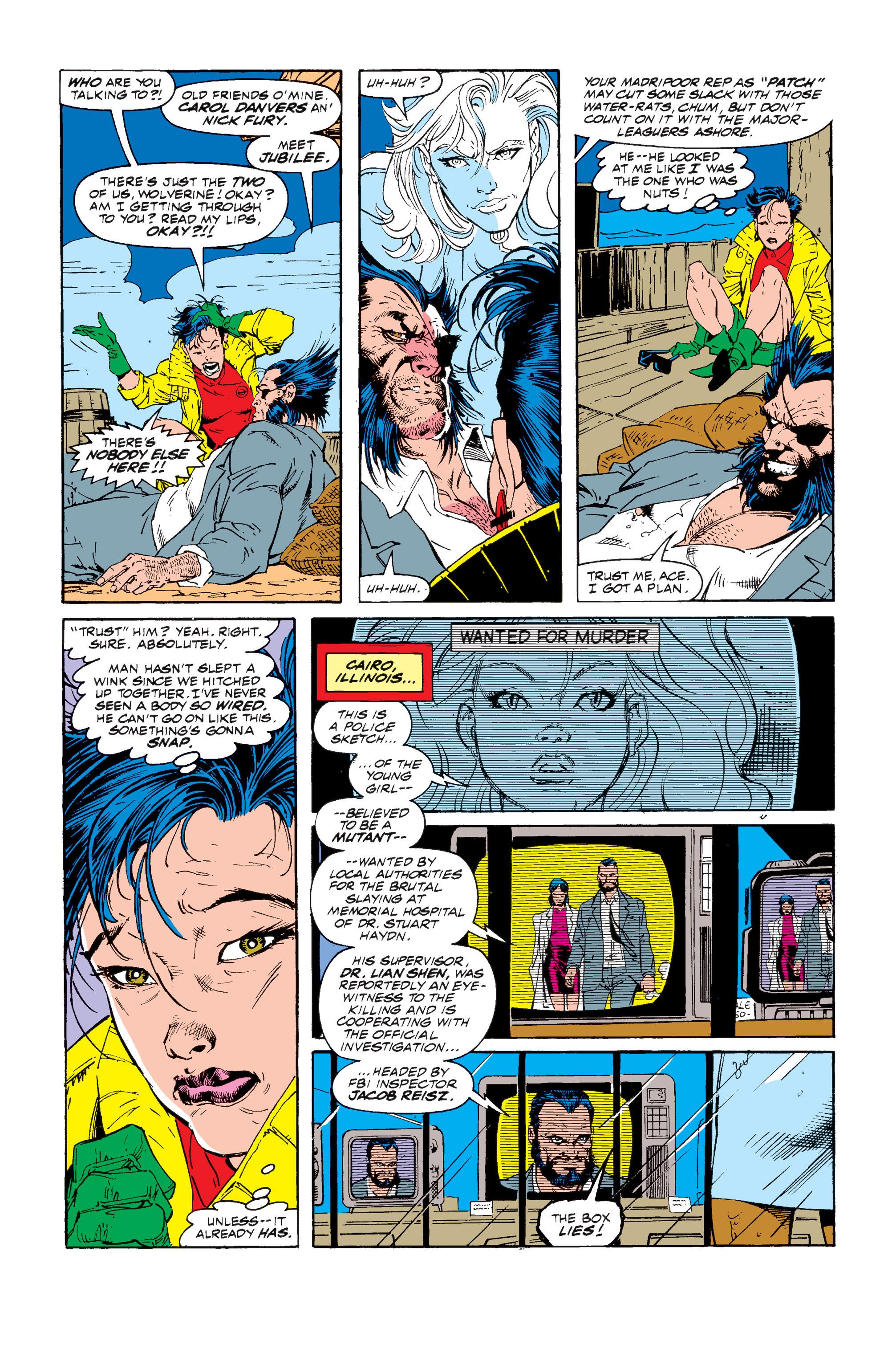 Read online Uncanny X-Men (1963) comic -  Issue #257 - 10