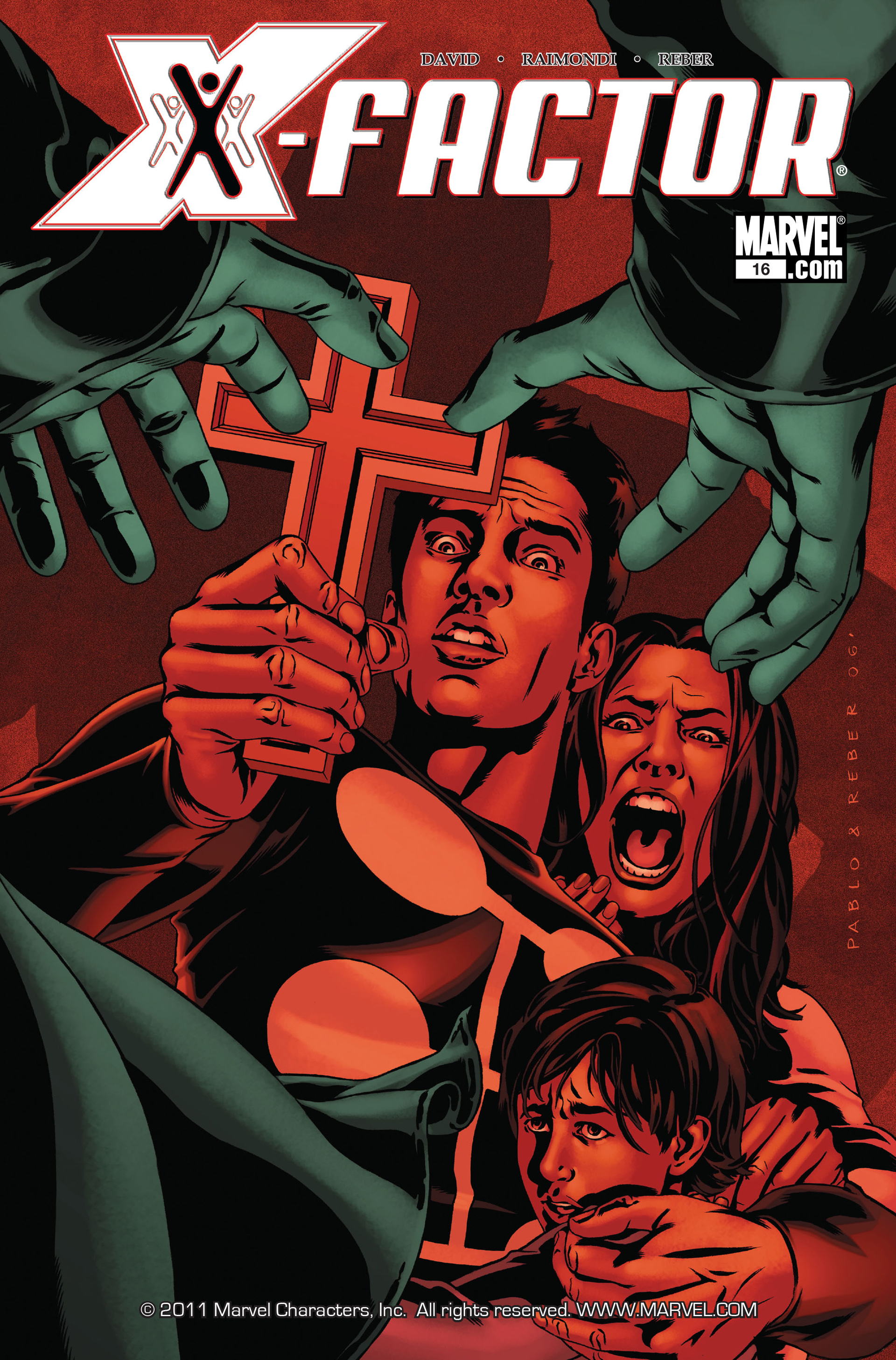 Read online X-Factor (2006) comic -  Issue #16 - 1